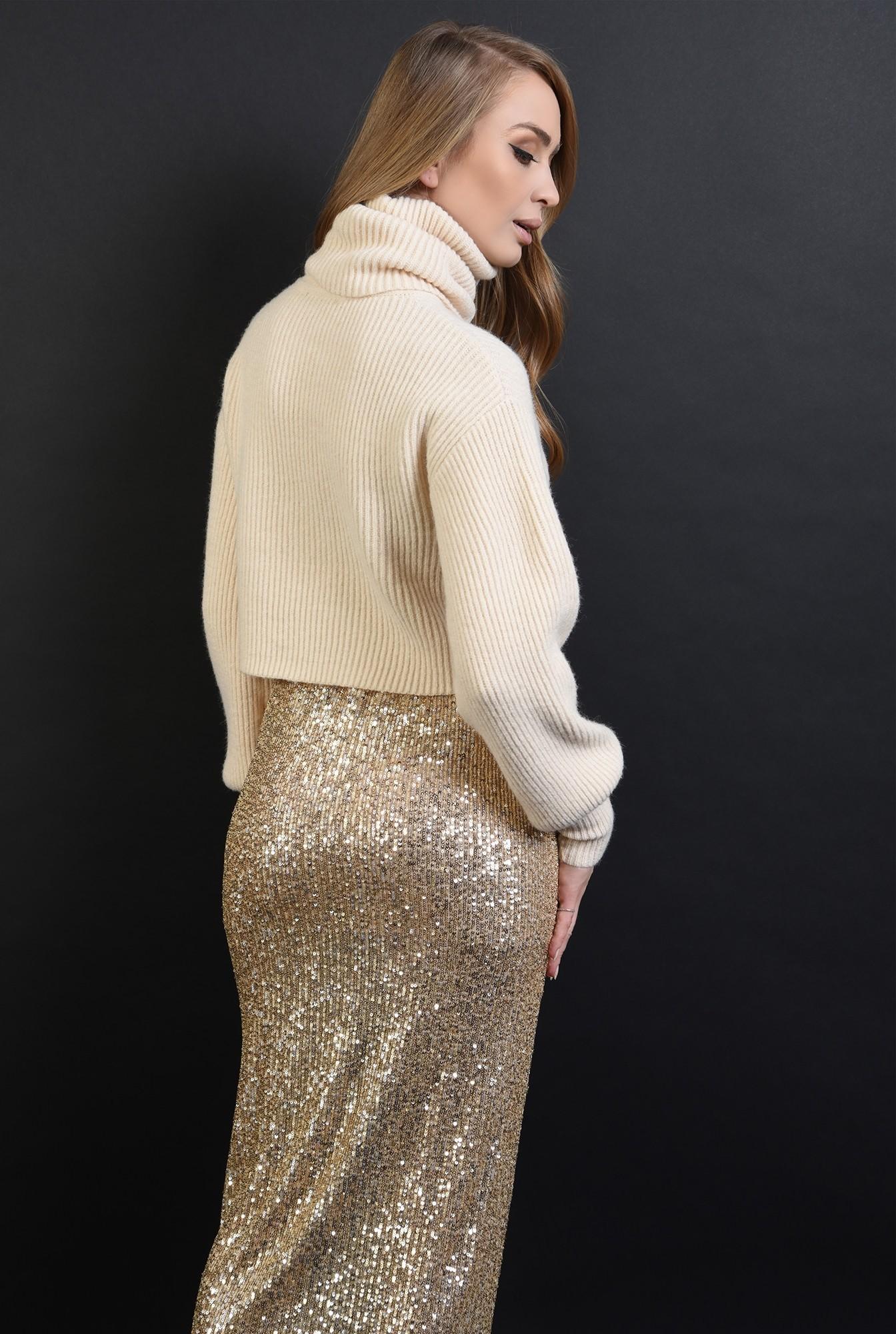 1 - 360 - fusta eleganta, cu paiete aurii, Poema