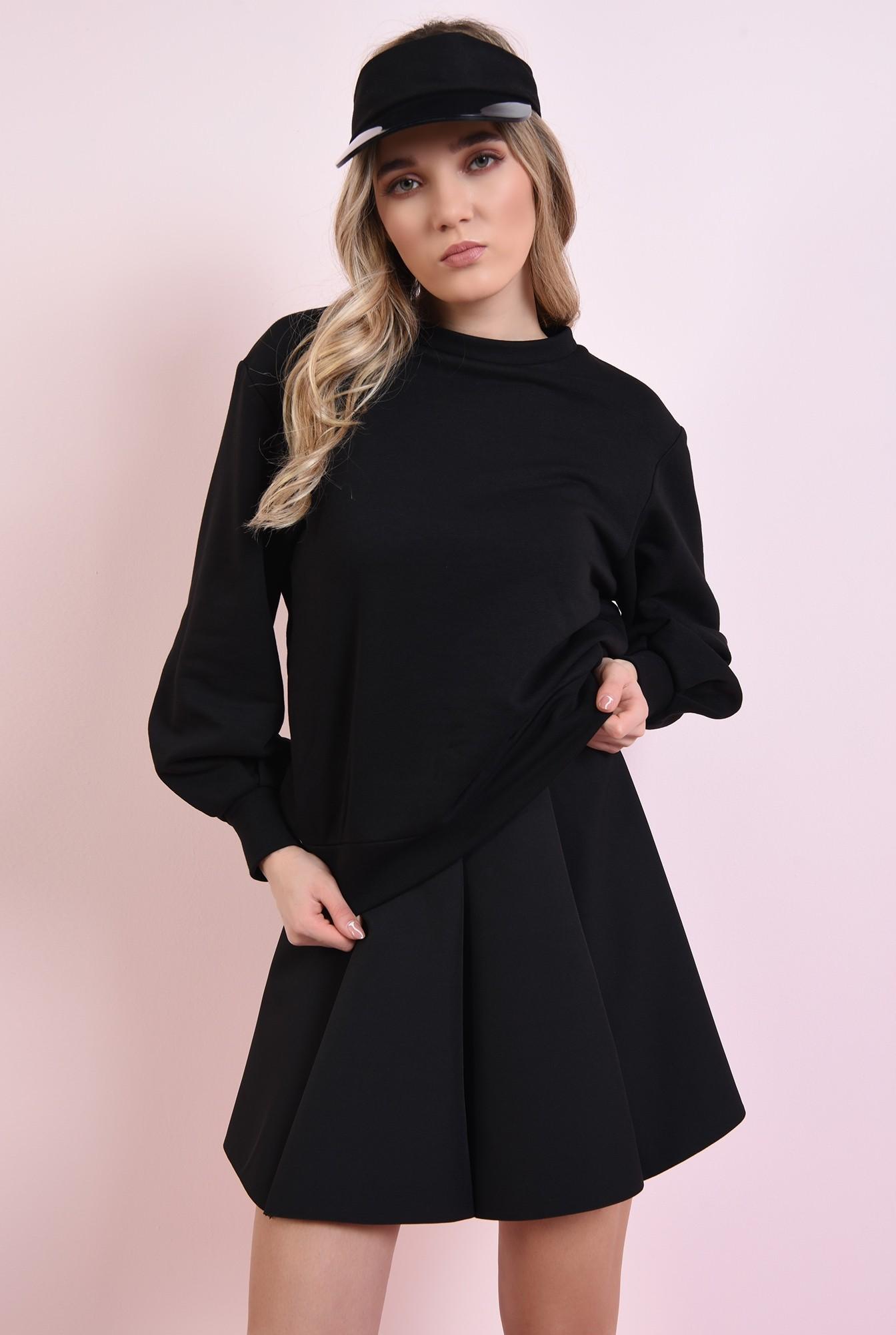 1 - fusta neagra, scurta, cu clini