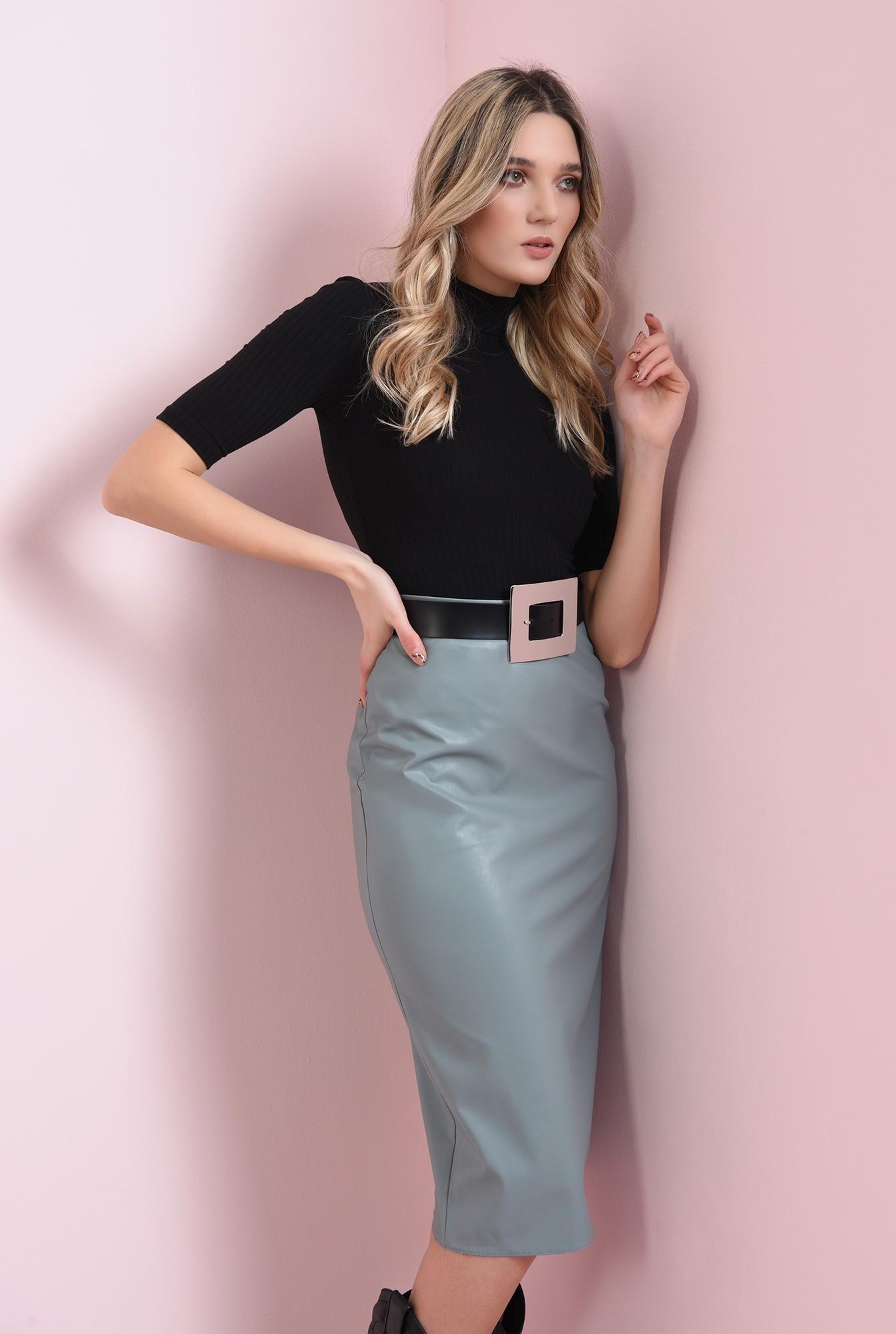 1 - fusta casual, cu lungime medie