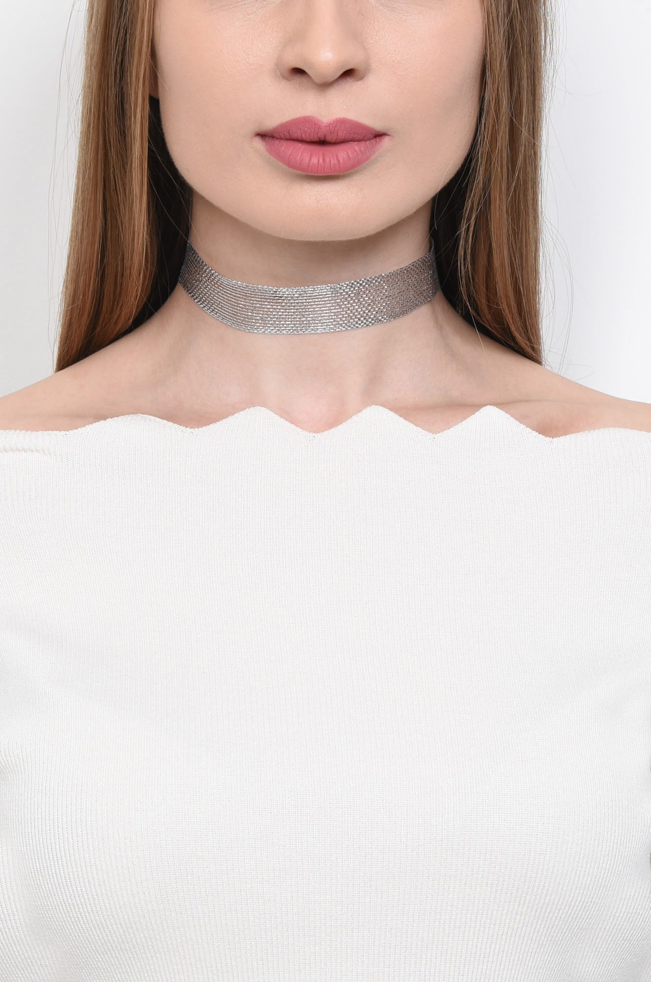0 - COLIER TIP CHOCKER GB15021709-ARGINTIU