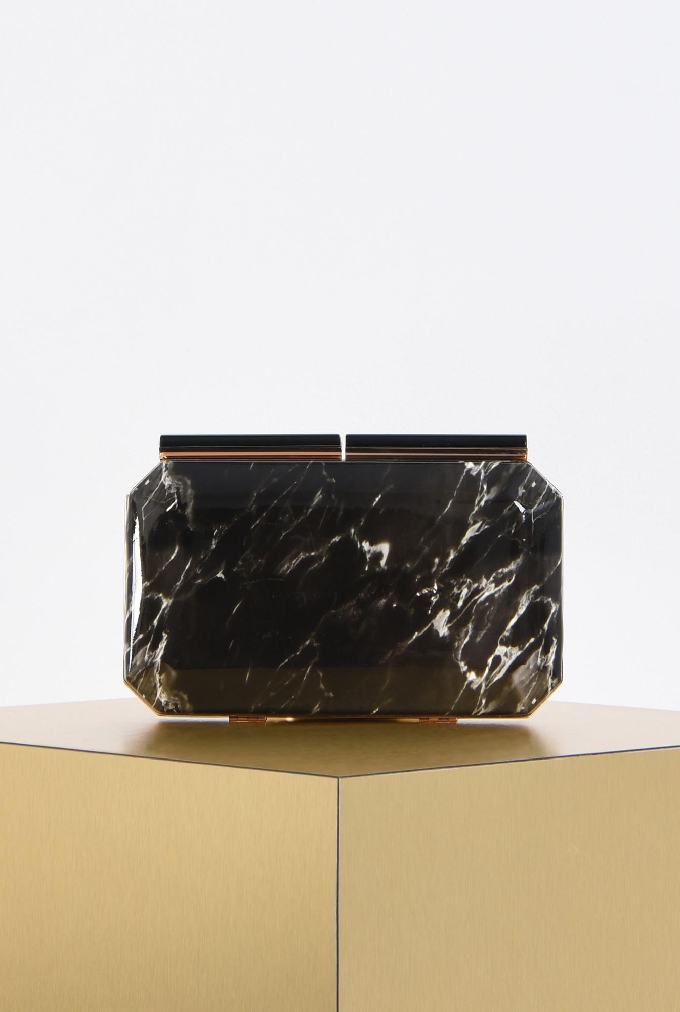 0 - plic lac, geanta de seara, clutch bicolor