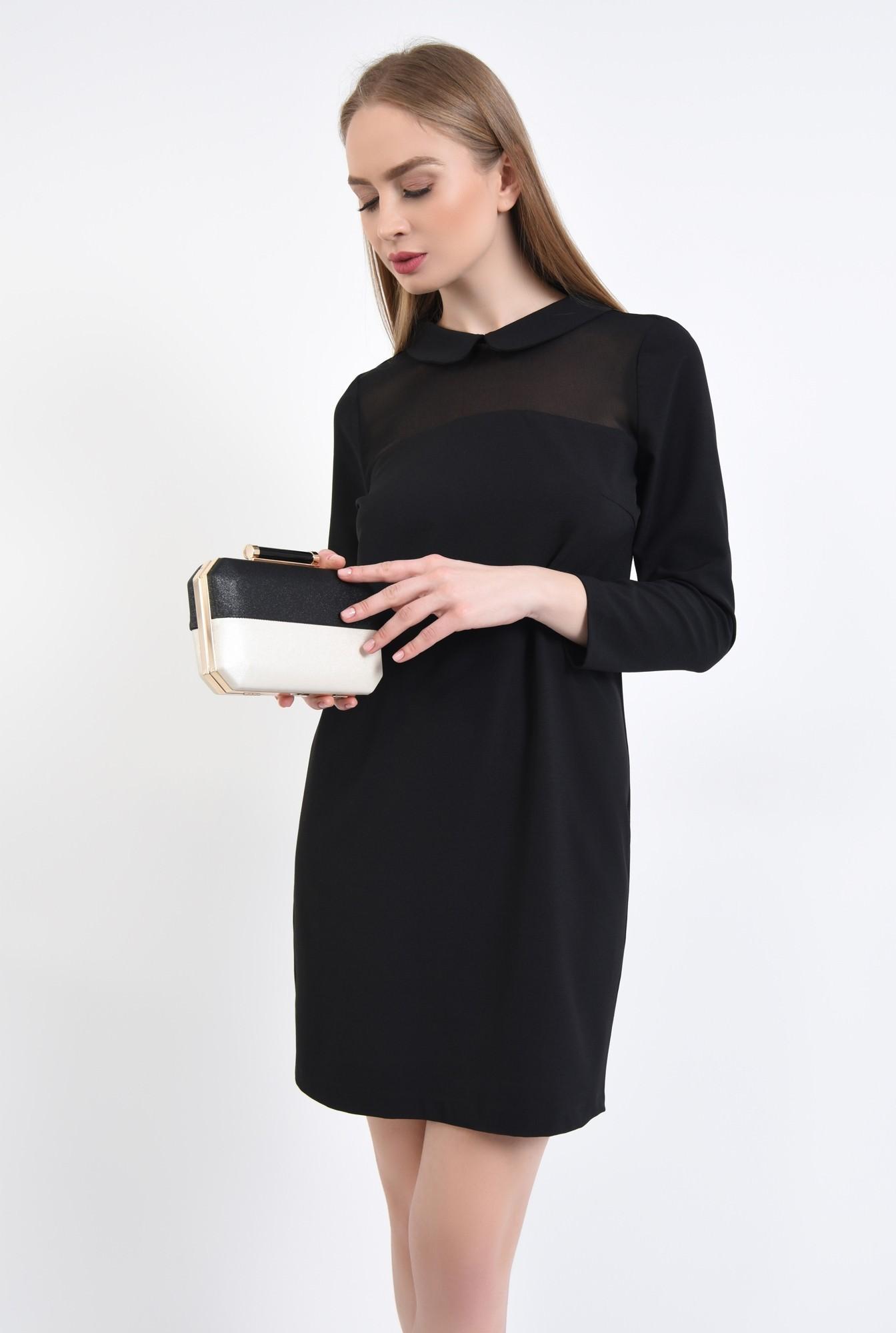 2 - poseta eleganta, clutch, bicolor, plic elegant