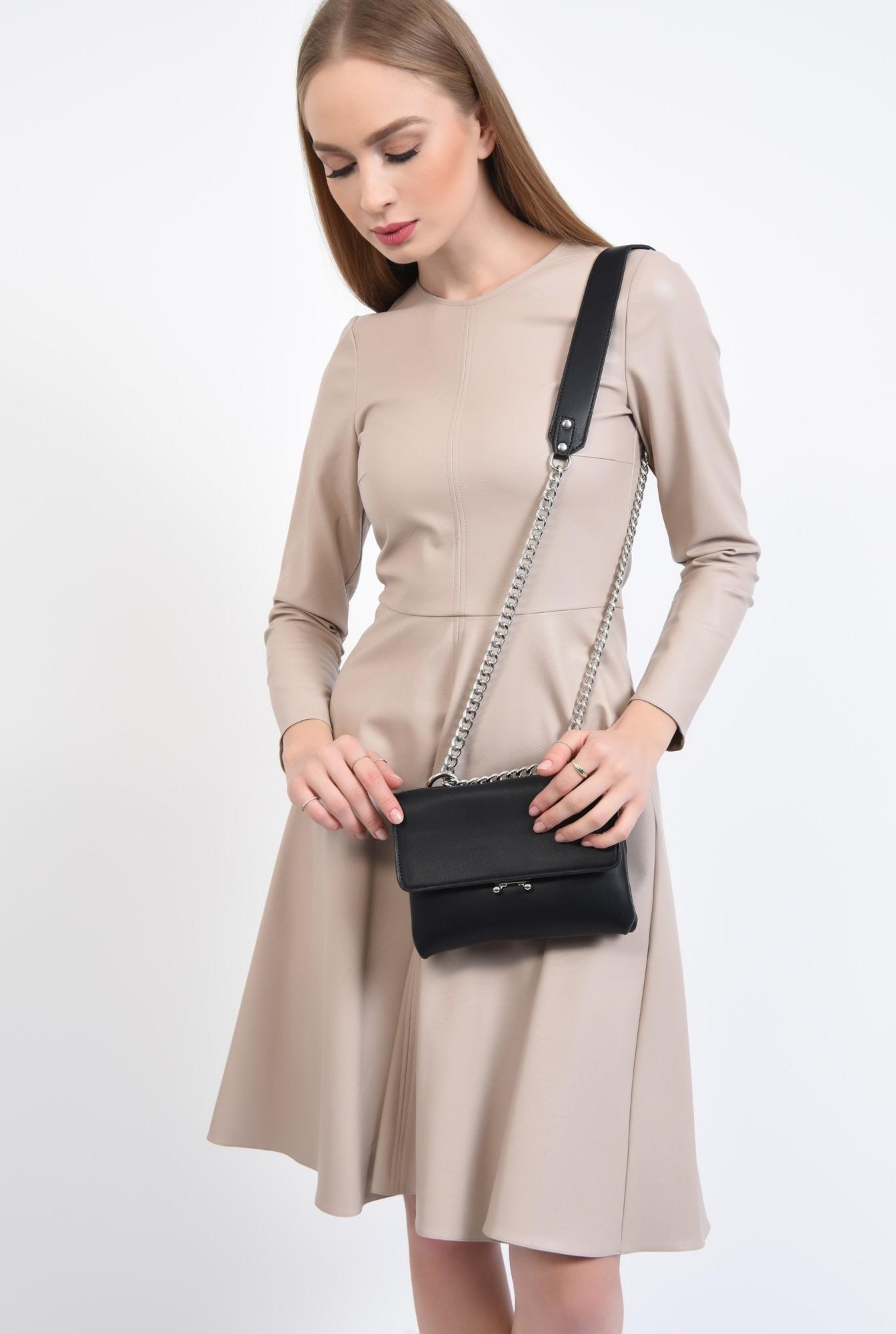 3 - geanta casual, accesorii, negru