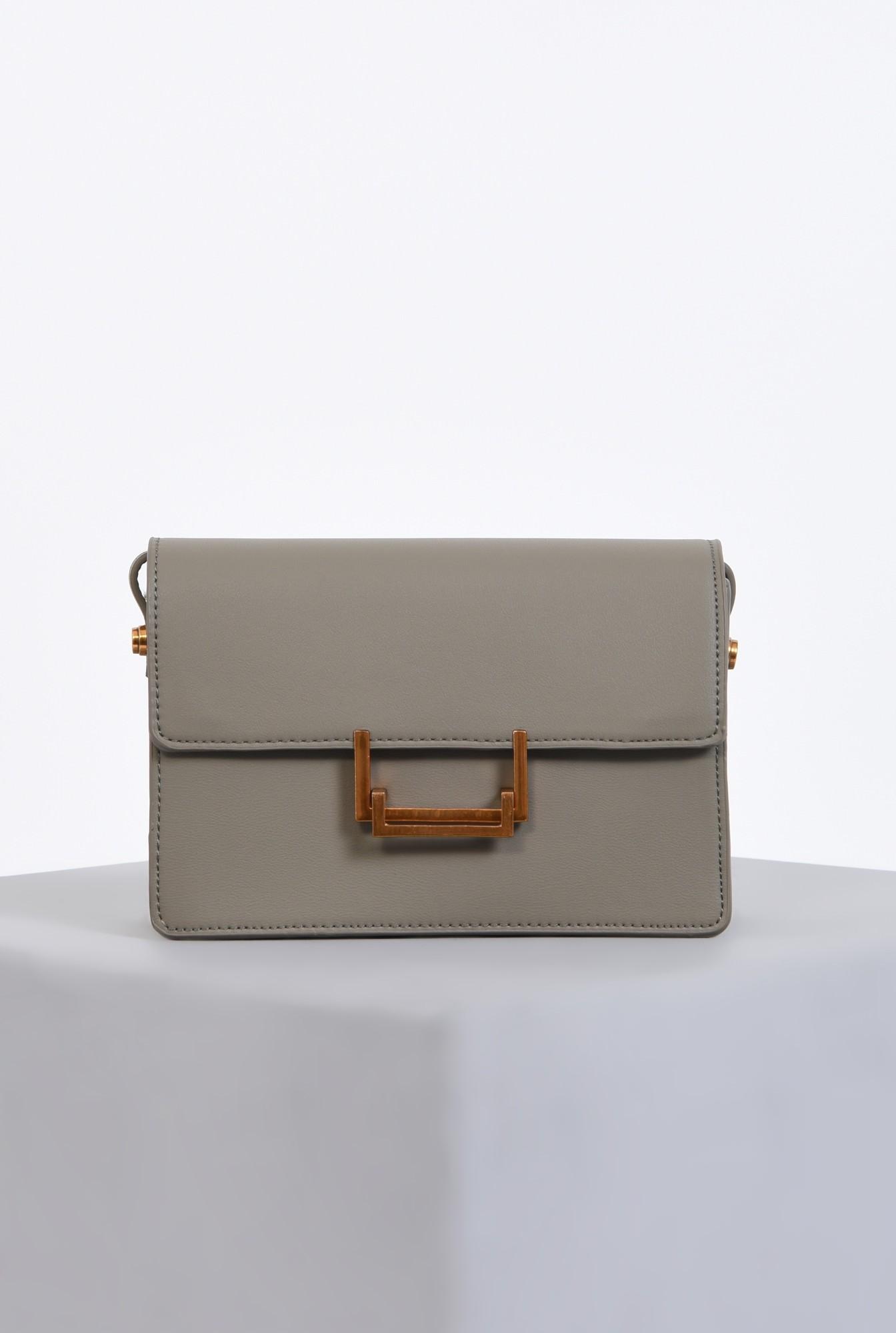 0 - geanta medie, accesorii, gri, poseta casual