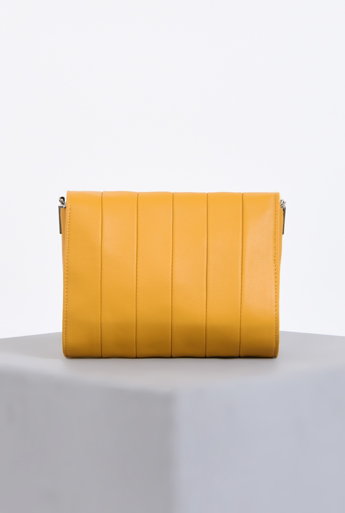 2 - geanta casual, mustar, poseta de zi