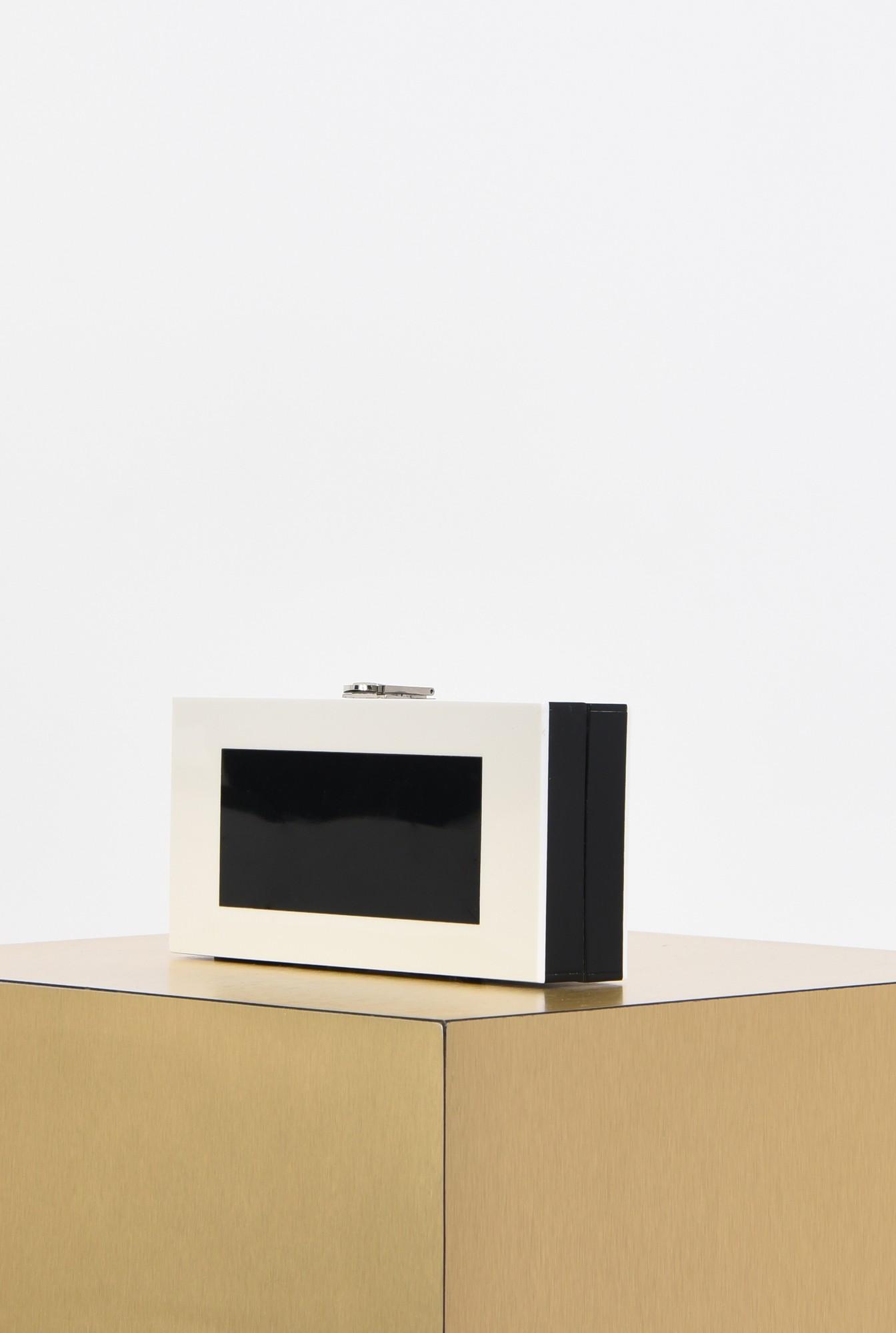 1 - plic bicolor, alb-negru, contrast, plexiglas