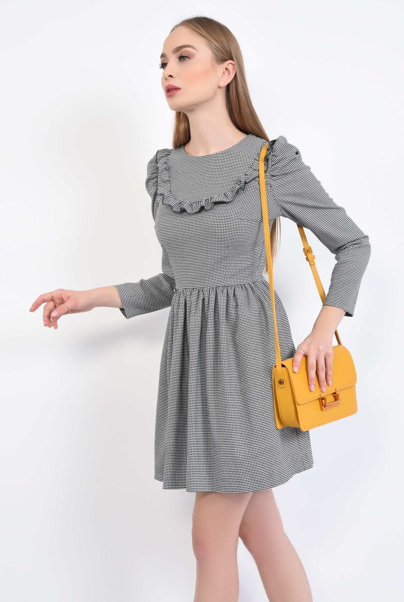 3 - geanta casual, mustar, medie, accesorii