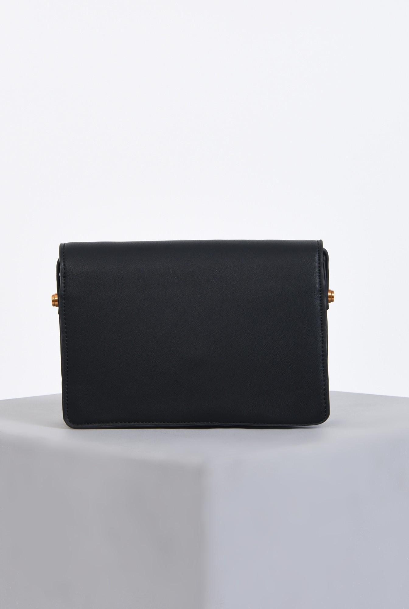 2 - geanta casual, negru, accesorii