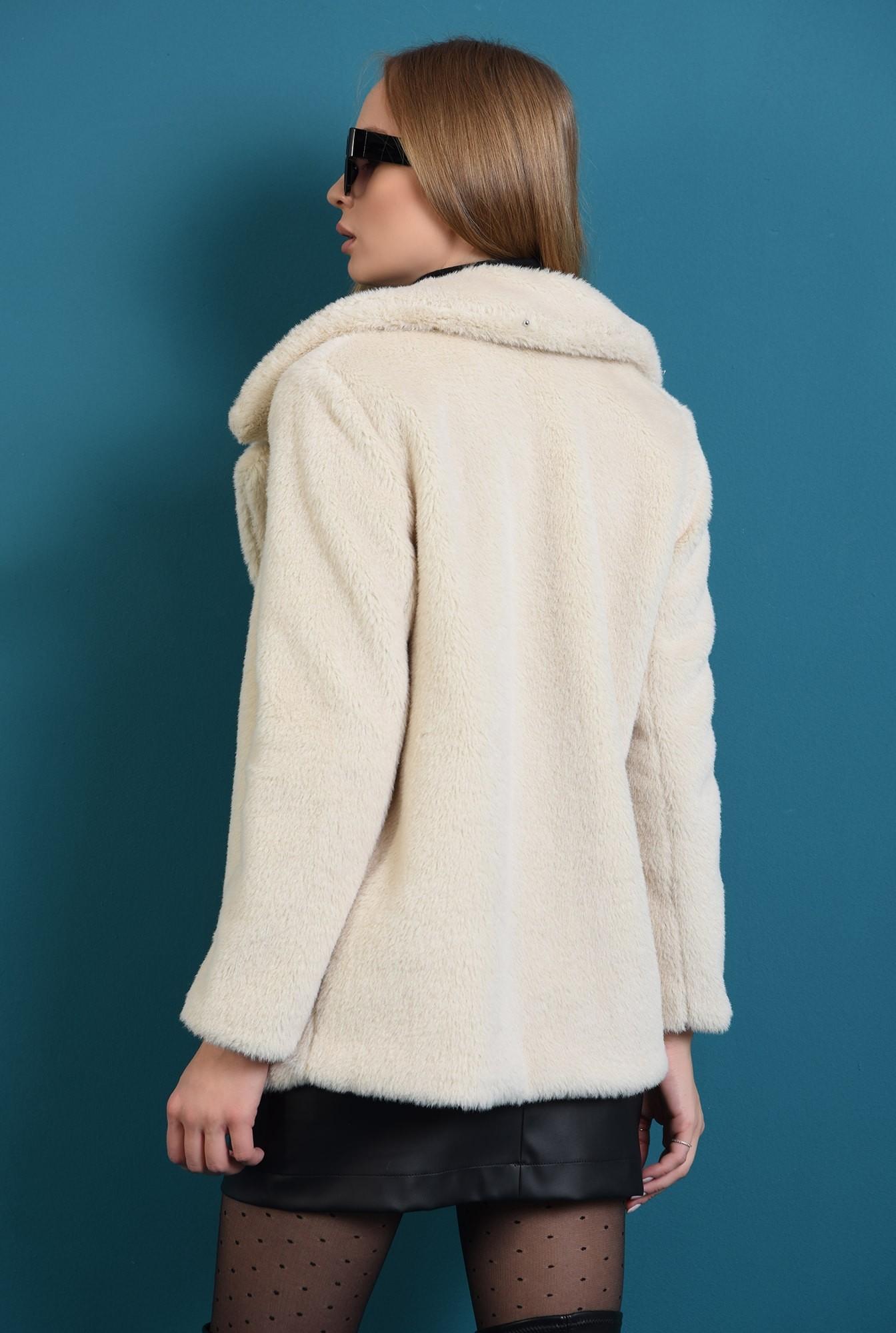 1 - jacheta ivoar, cu revere, cu maneca lunga