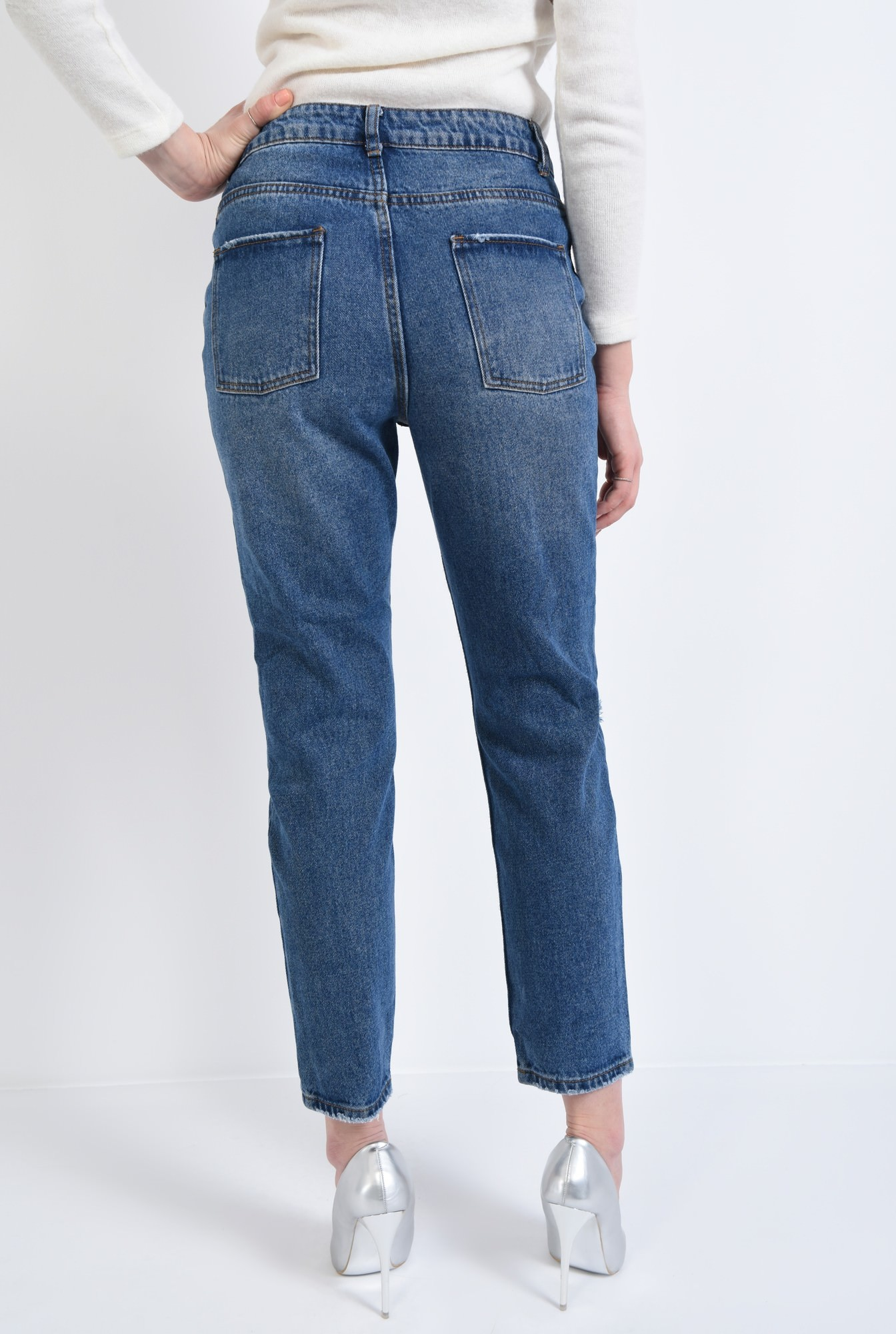 1 - 360 - Pantaloni casual, denim, bumbac
