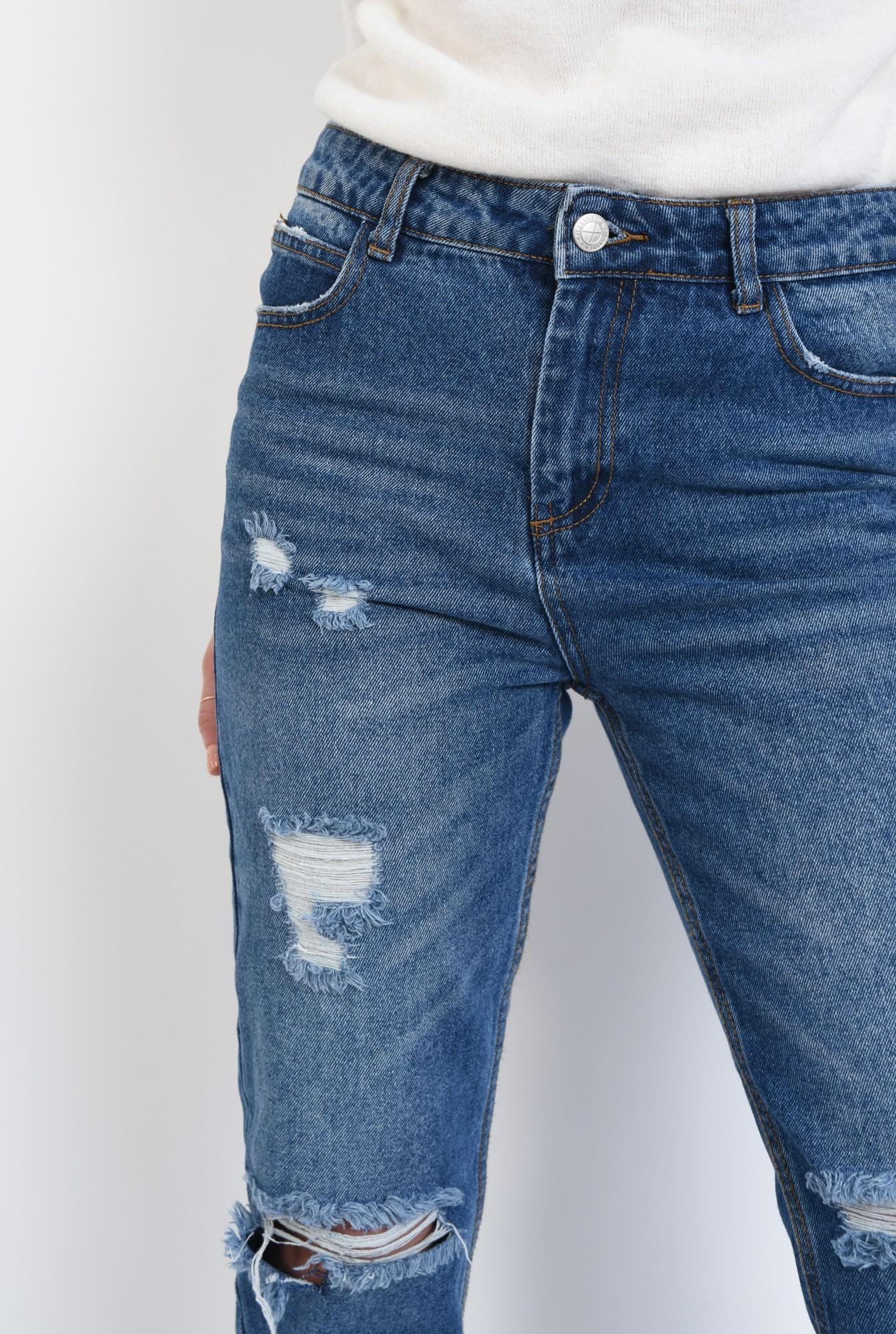 2 - 360 - Pantaloni casual, denim, bumbac