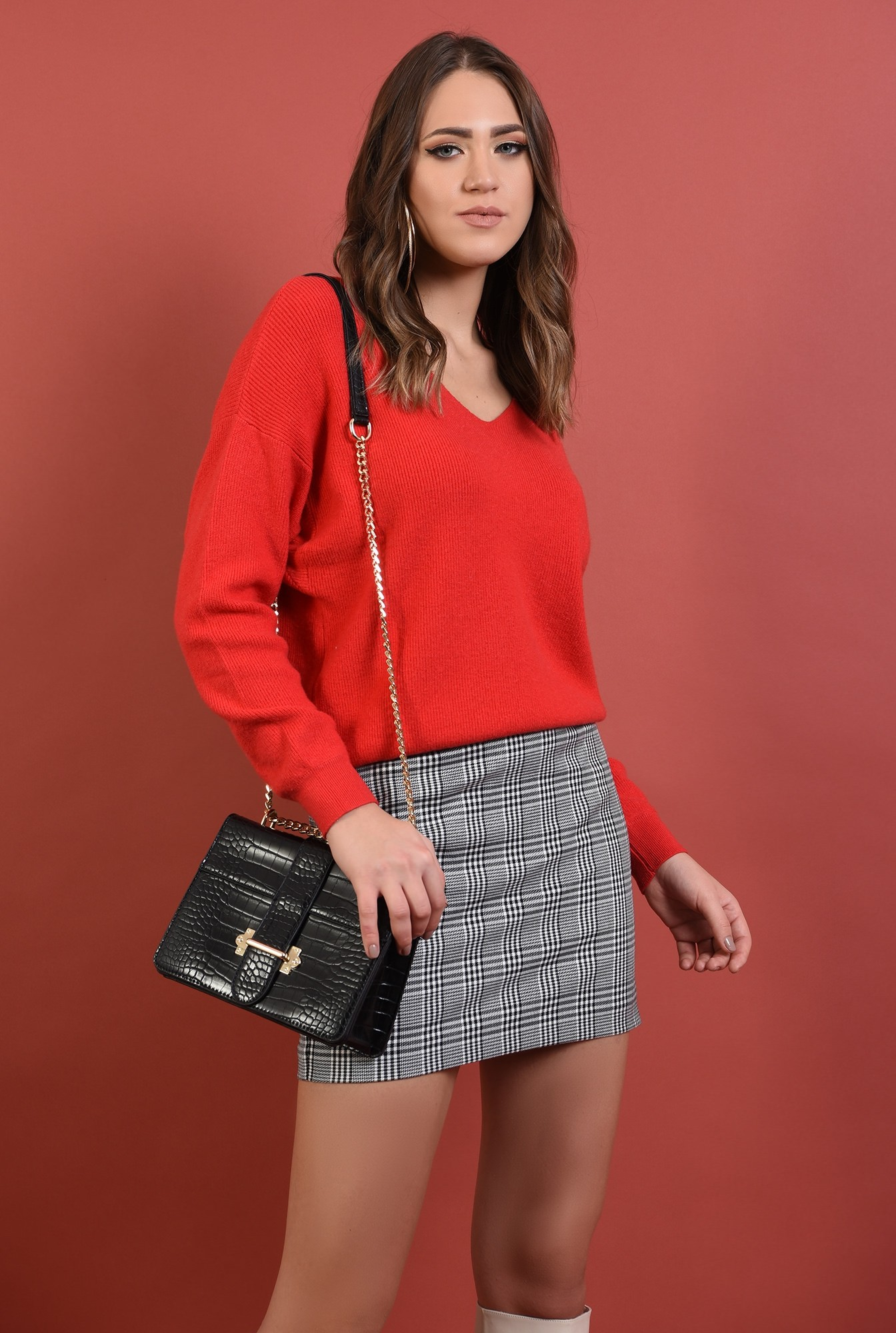 0 - 360 - pulover lejer, reiat, maneci raglan, anchior