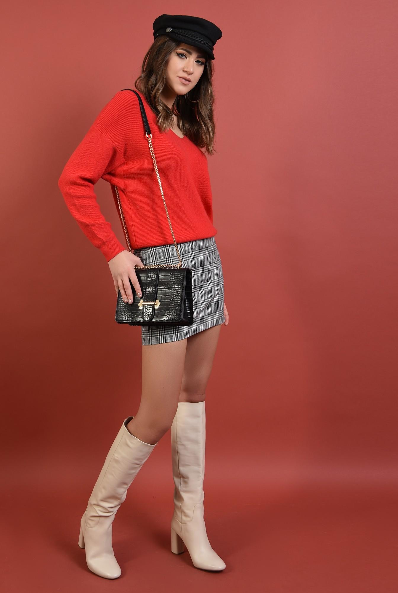 3 - 360 - pulover lejer, reiat, maneci raglan, anchior