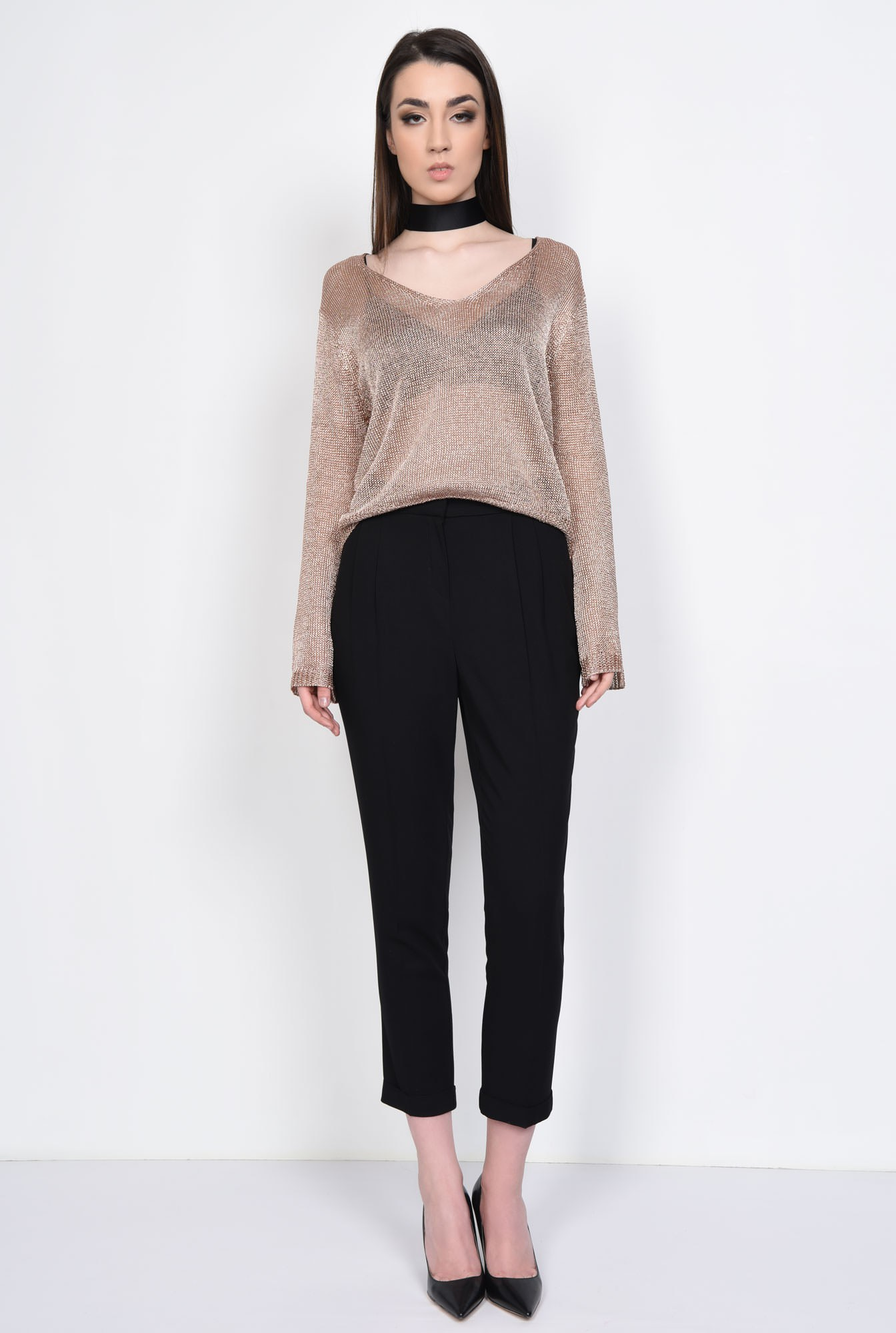 3 - PULOVER CASUAL PL15021707-ROZ
