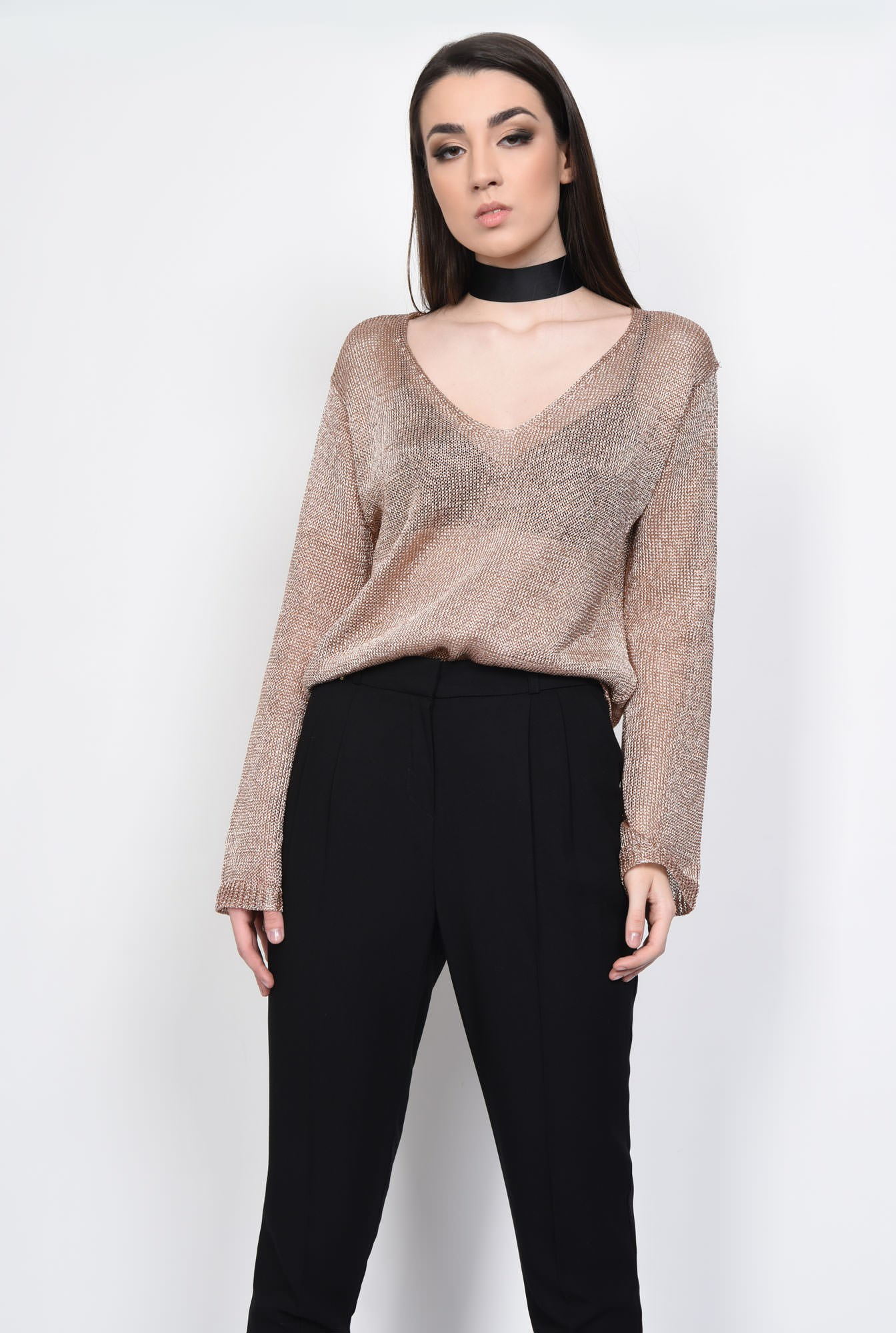 0 - PULOVER CASUAL PL15021707-ROZ
