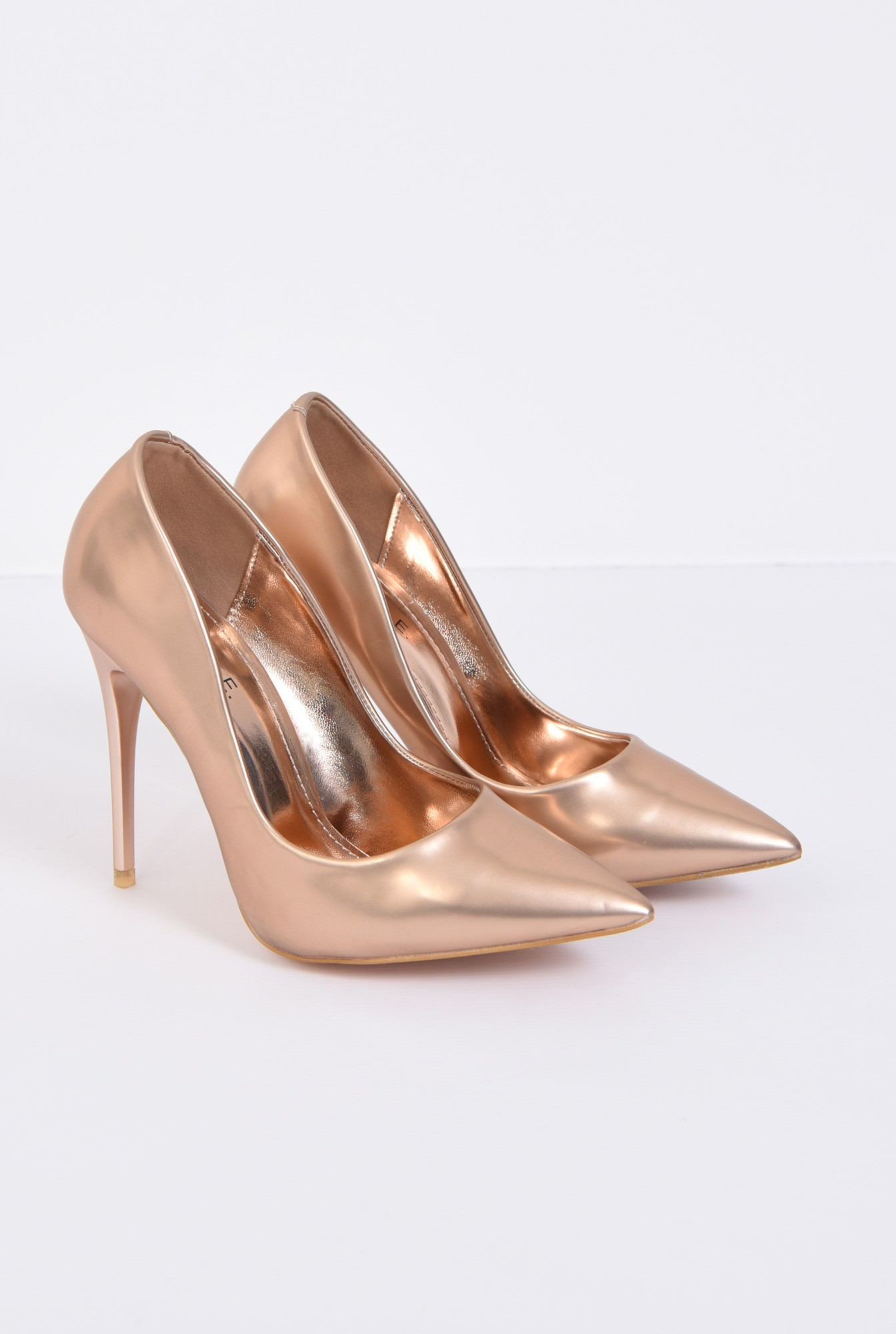 2 - PANTOFI STILETTO PO10091701-GOLD/ROSE