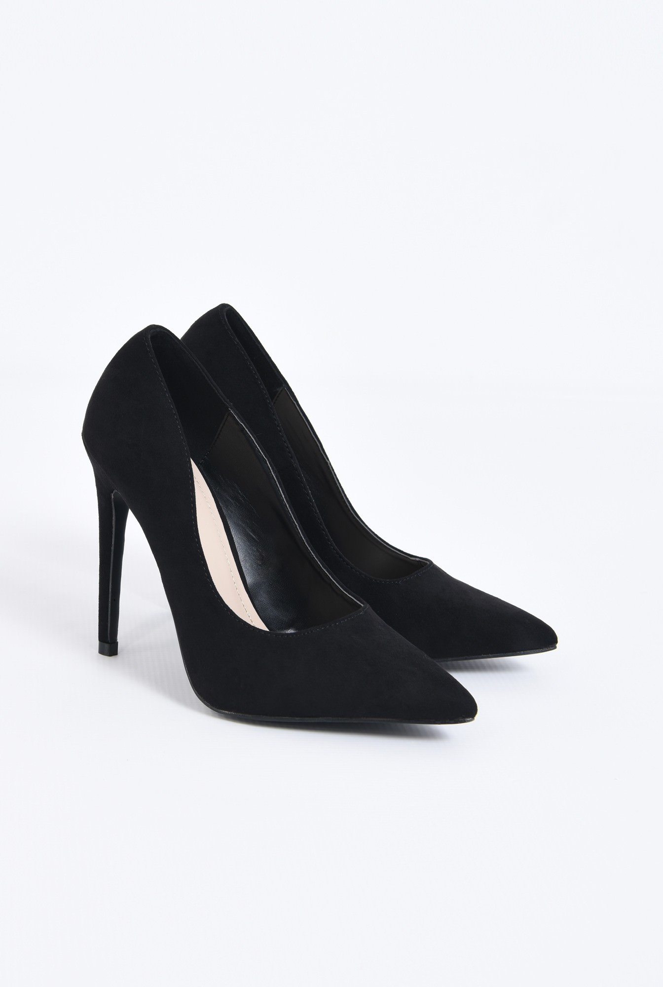 1 - pantofi de ocazie, varf ascutit, toc inalt