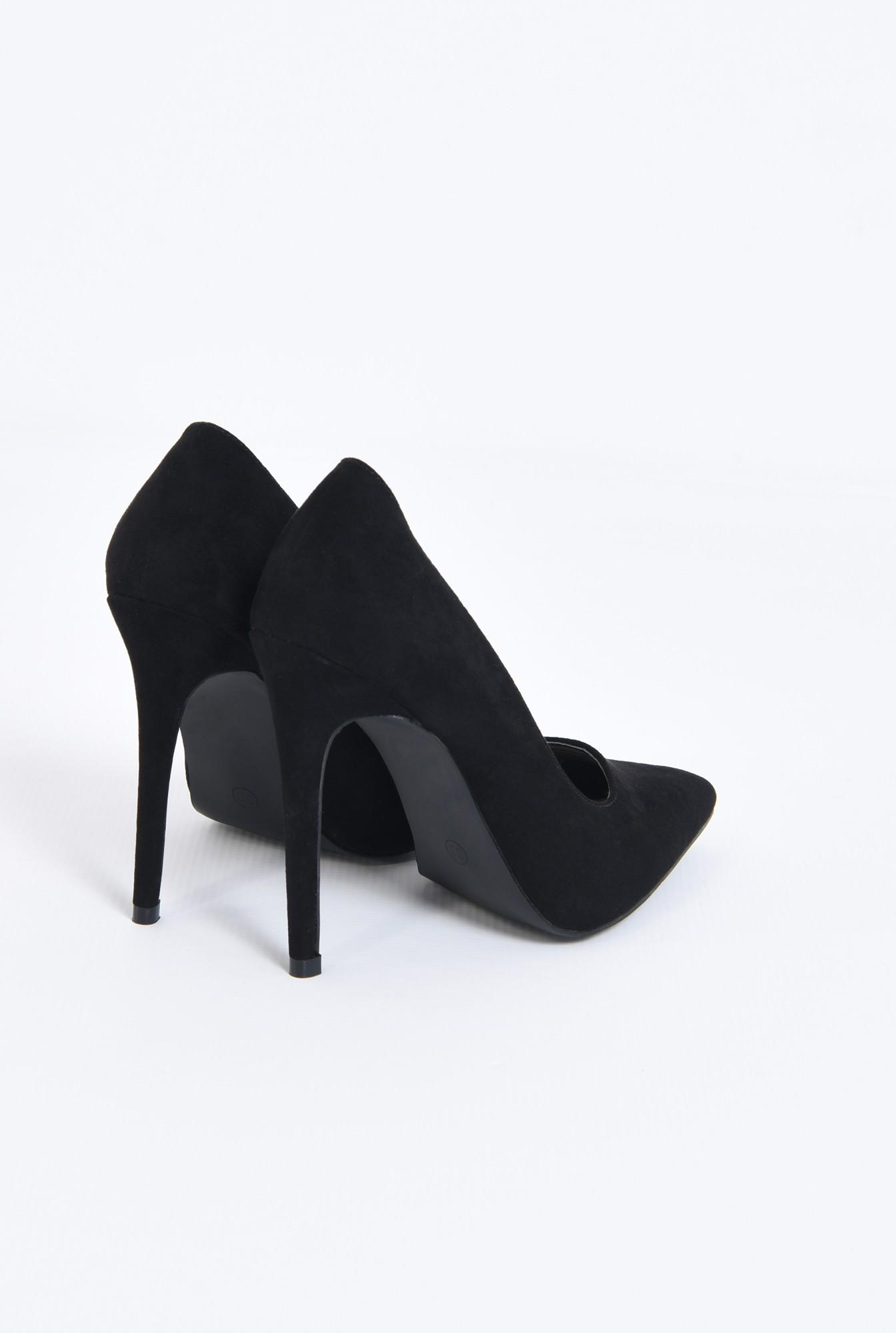2 - pantofi de ocazie, varf ascutit, toc inalt
