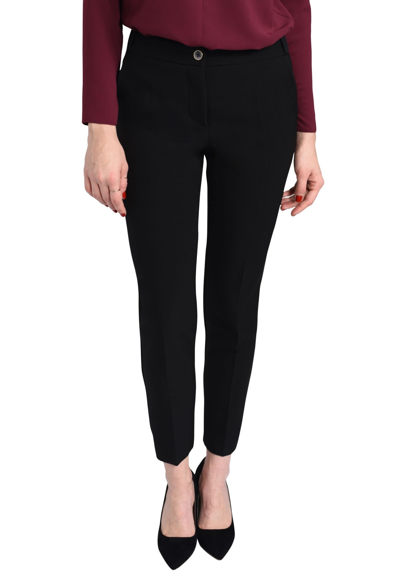 2 - PANTALON OFFICE PT 123-NEGRU