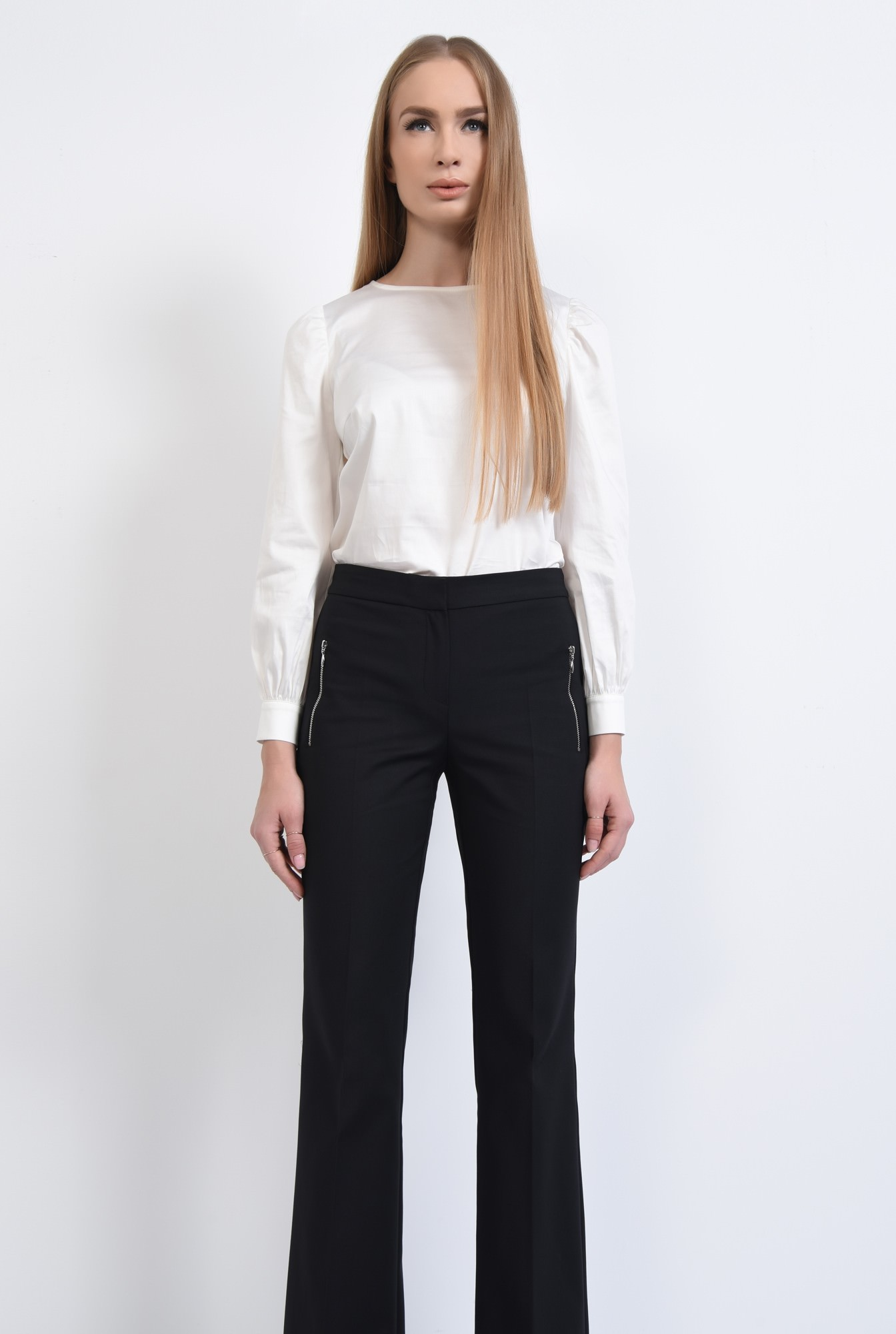 2 - PANTALON OFFICE PT 181-NEGRU
