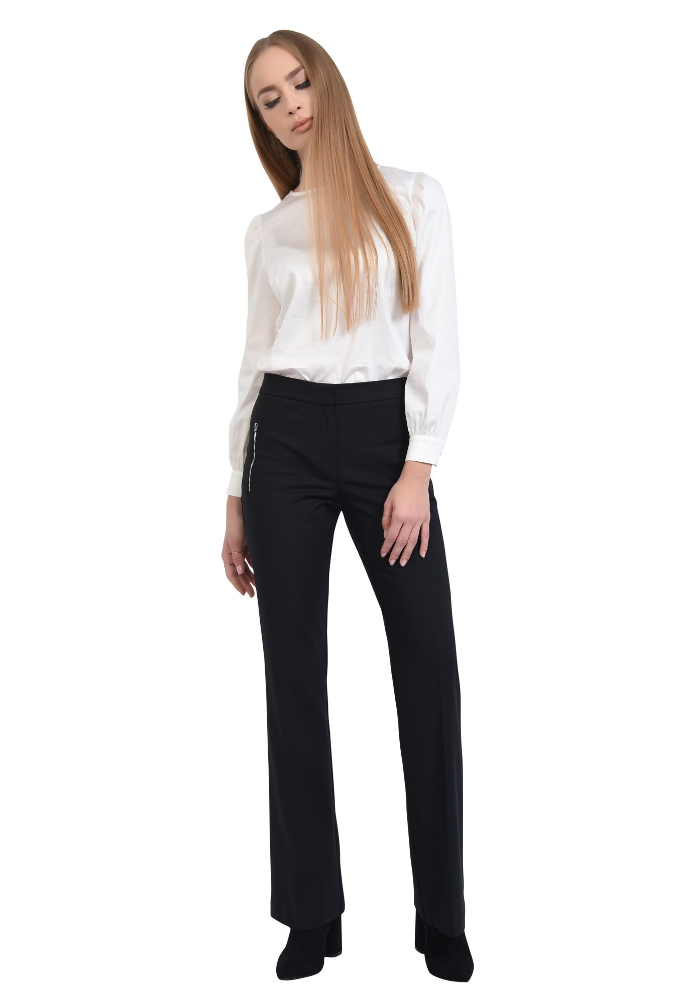 0 - PANTALON OFFICE PT 181-NEGRU