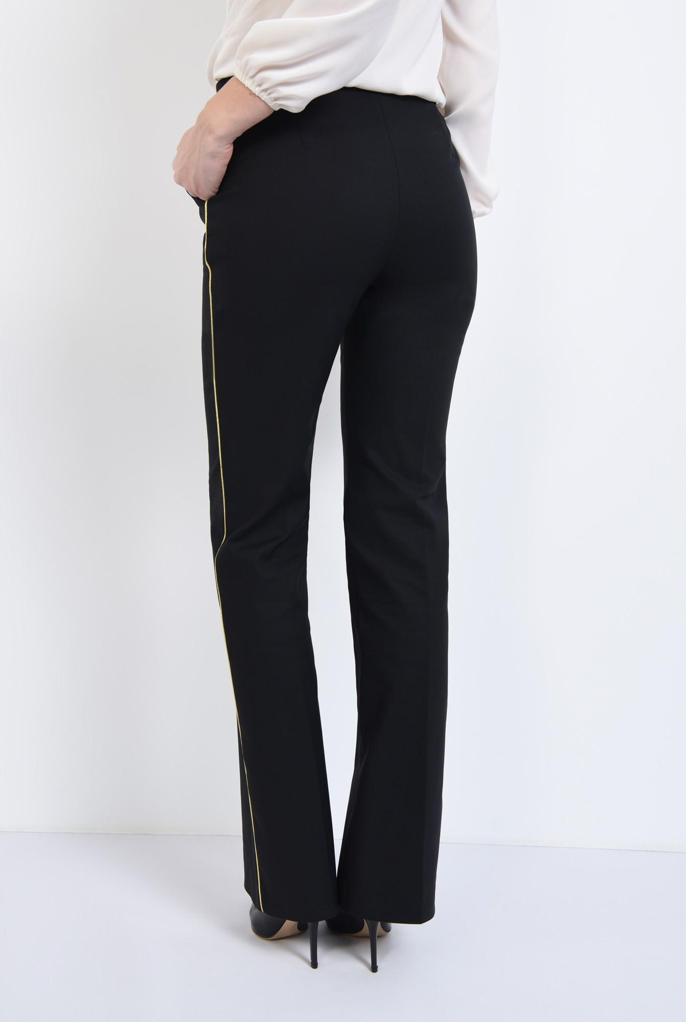 1 - PANTALON OFFICE PT 192-NEGRU