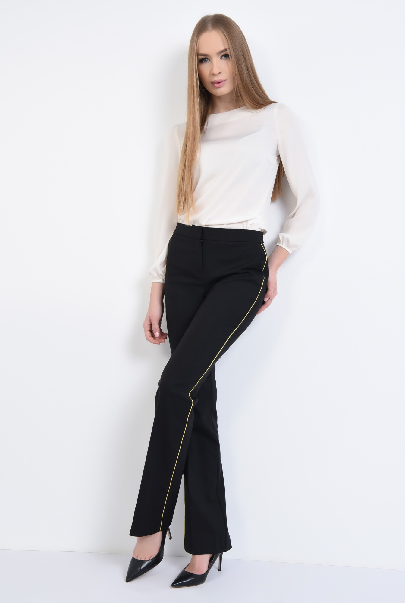 3 - PANTALON OFFICE PT 192-NEGRU