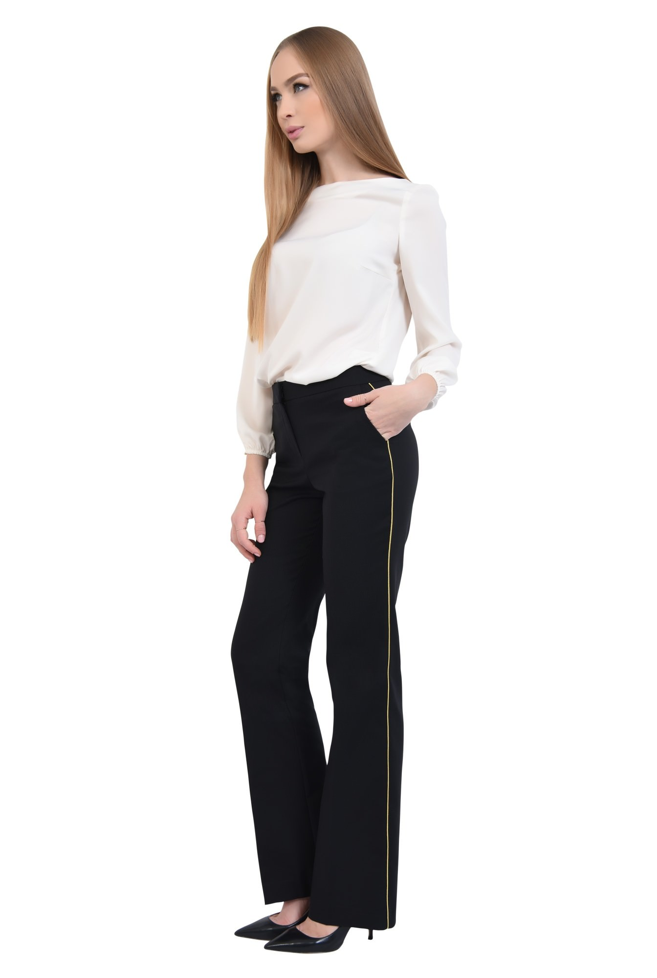 0 - PANTALON OFFICE PT 192-NEGRU