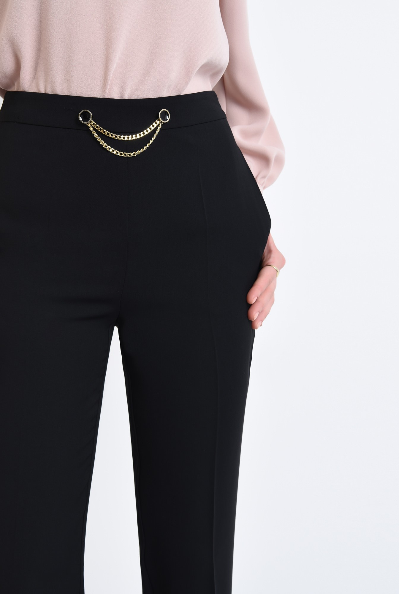 2 - Pantaloni eleganti, croi conic