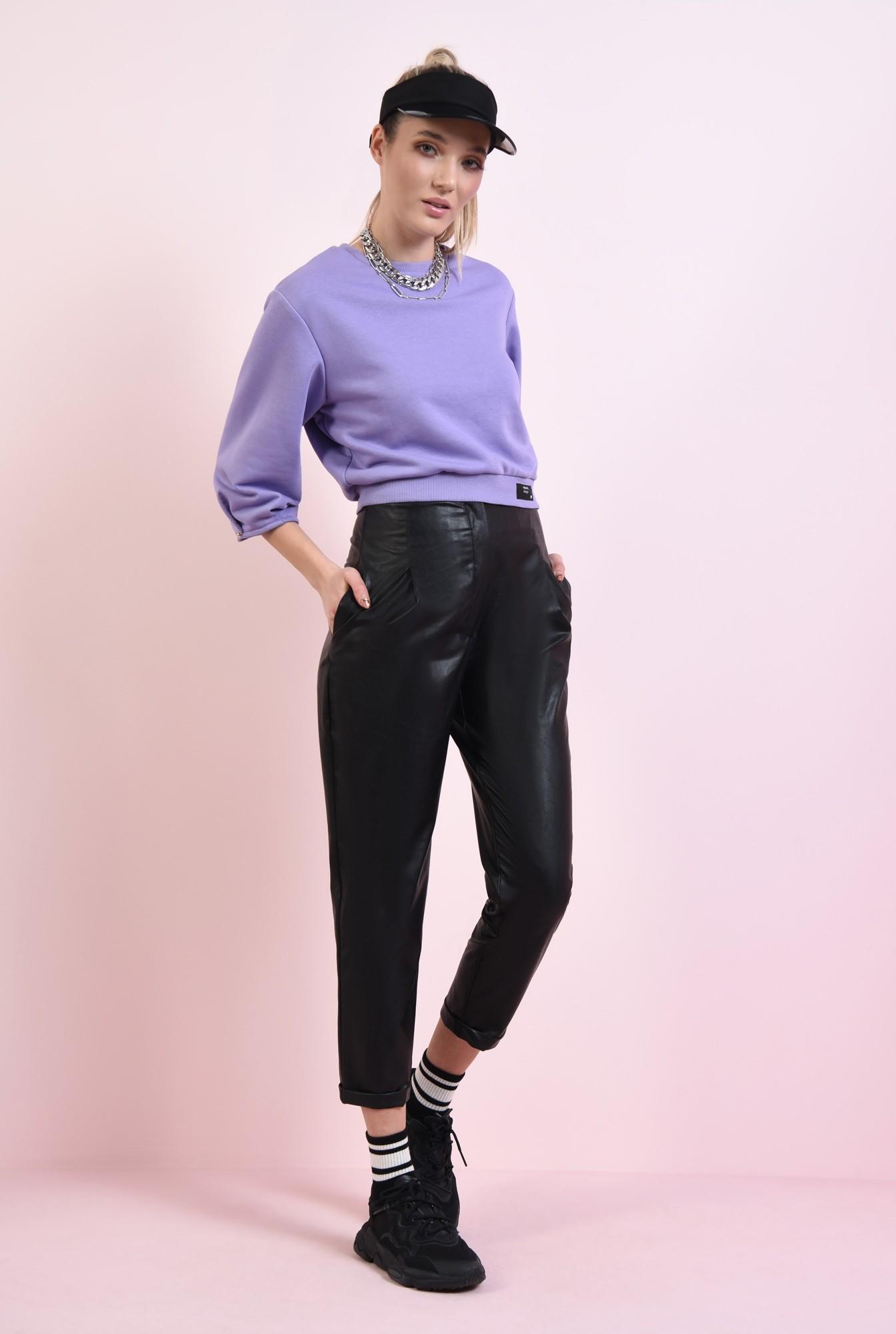 0 - pantaloni casual, conici, cu pense