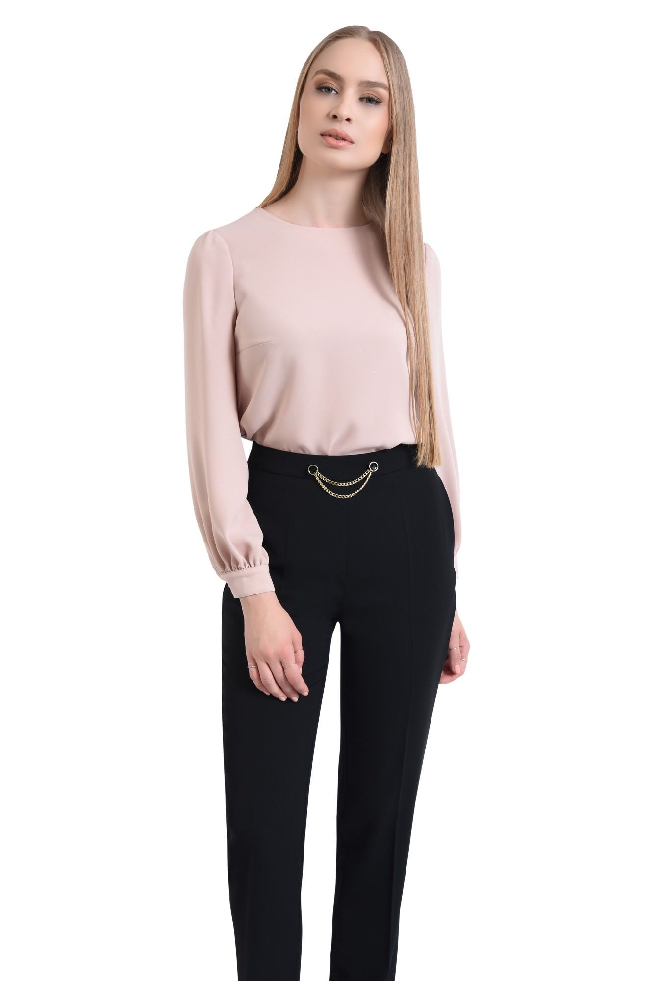 0 - Pantaloni eleganti, croi conic
