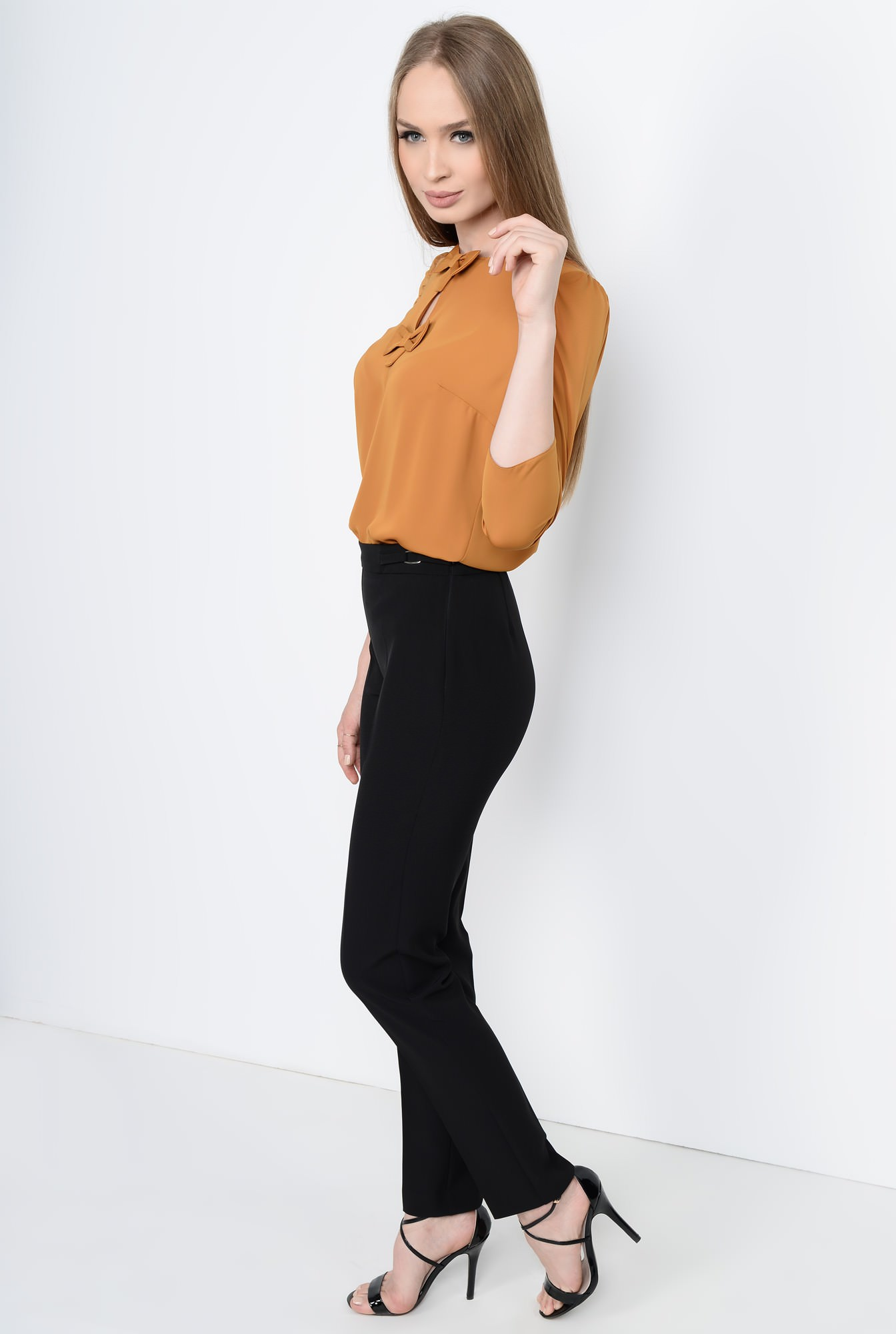 0 - PANTALON OFFICE PT 103-NEGRU