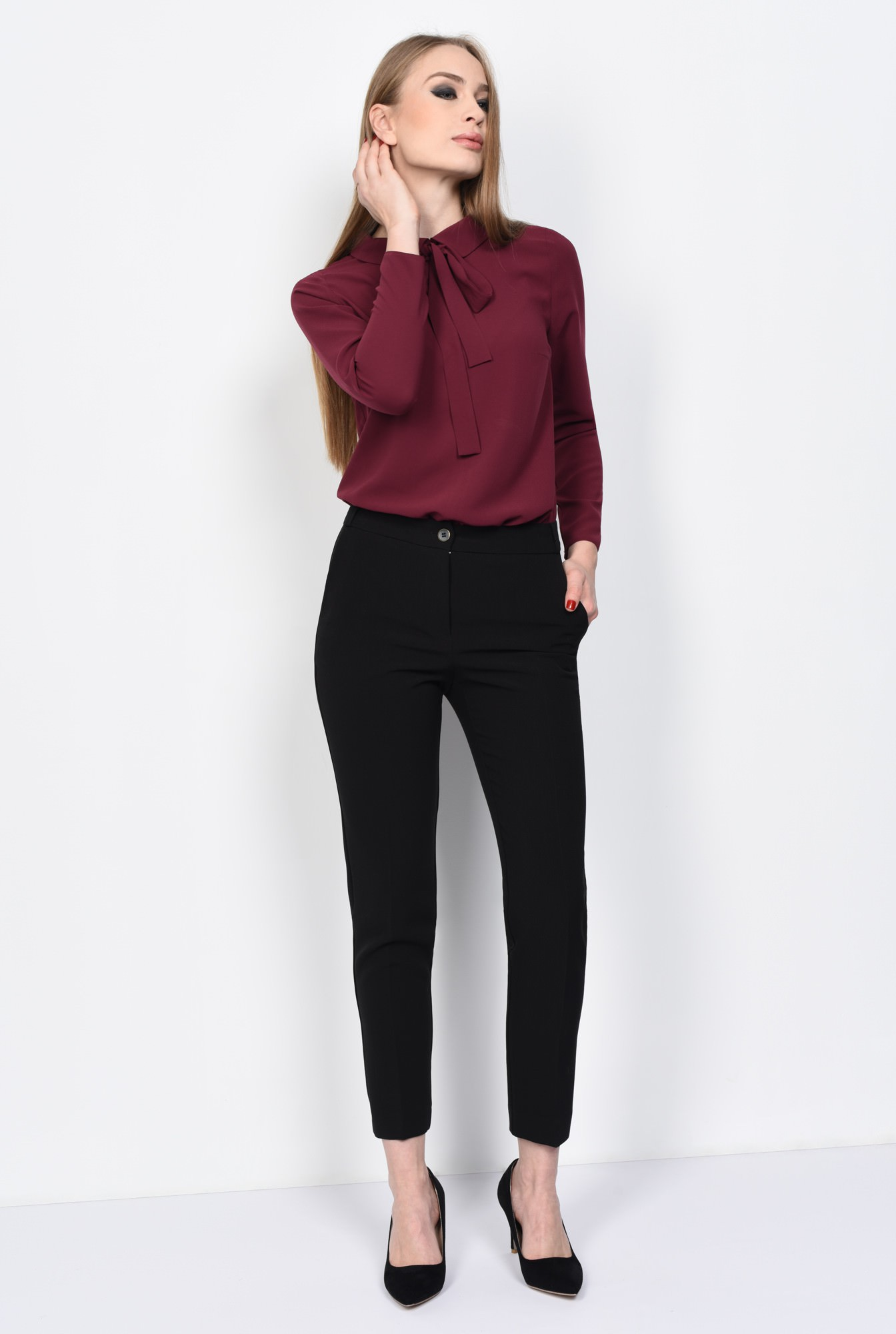3 - PANTALON OFFICE PT 123-NEGRU