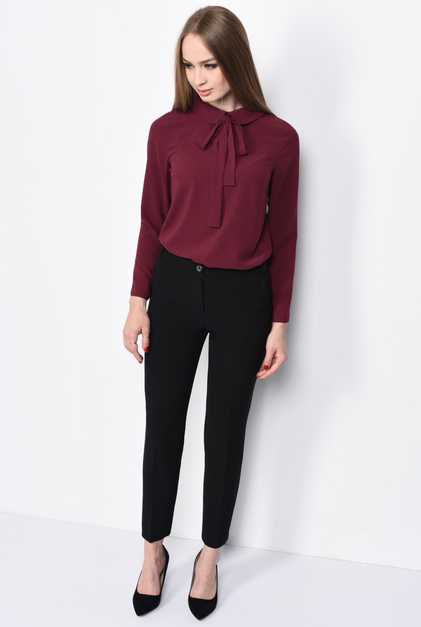 0 - PANTALON OFFICE PT 123-NEGRU