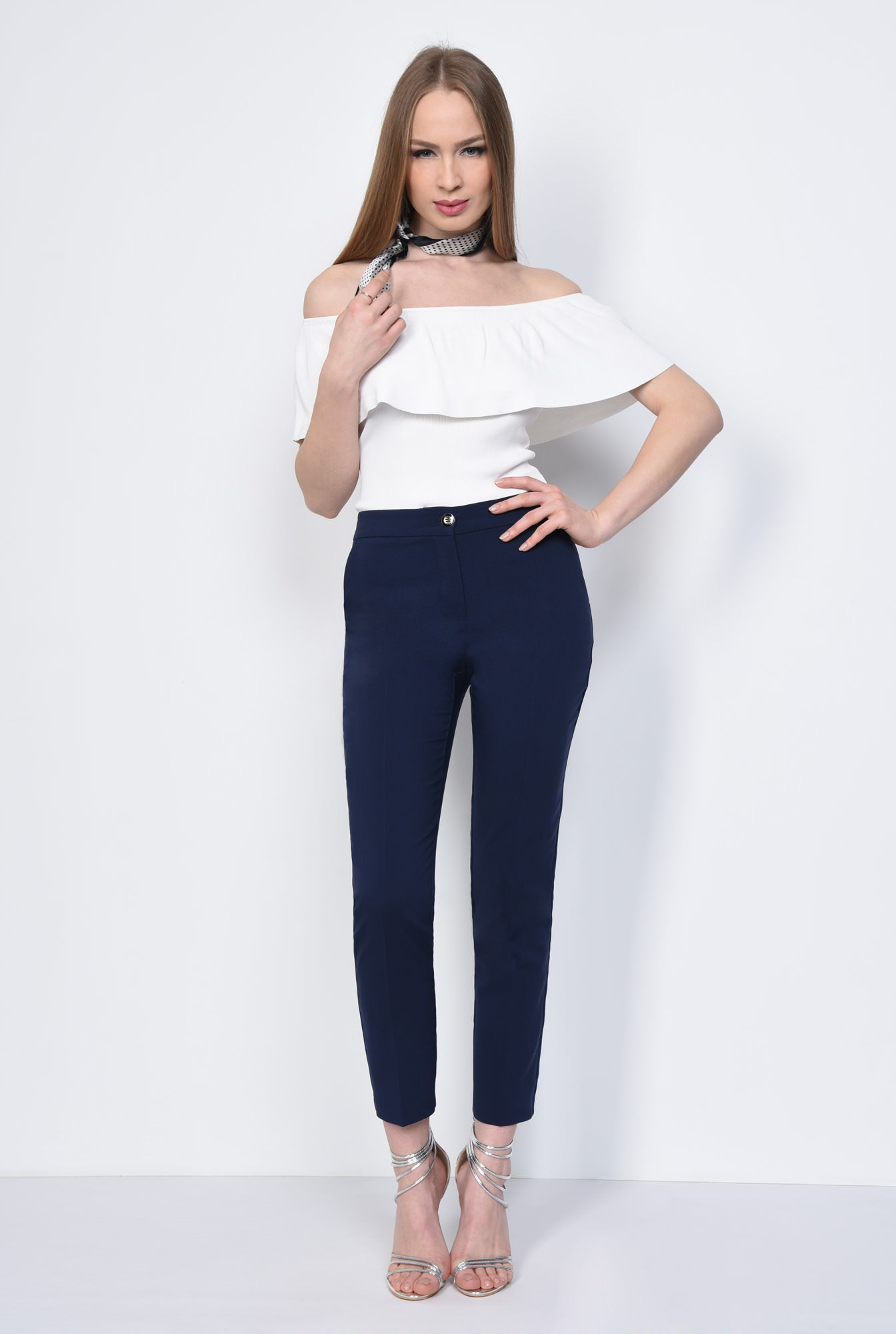 3 - PANTALON OFFICE CONIC PT 138-BLEUMARIN