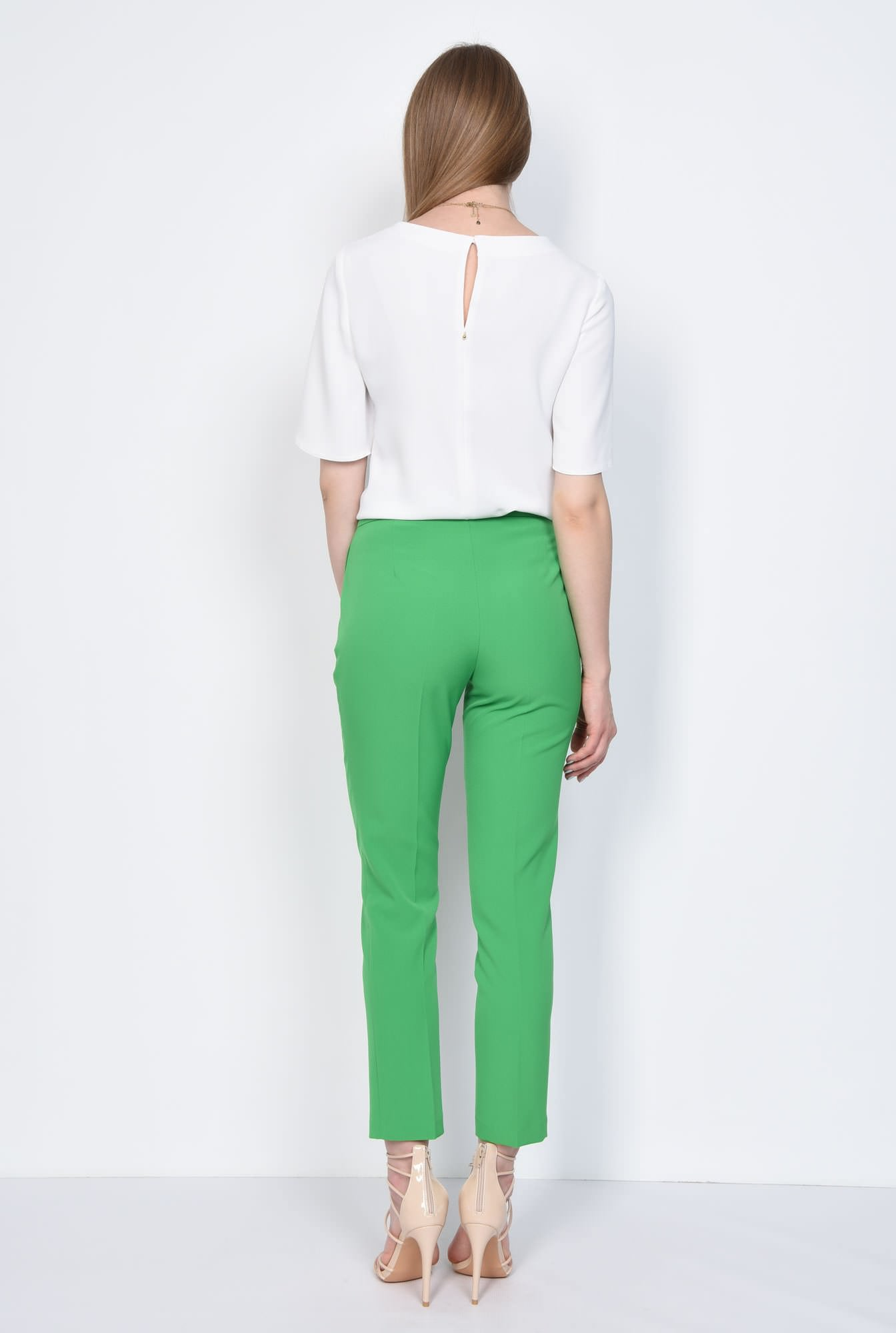 1 - PANTALON OFFICE CONIC PT 142-VERDE