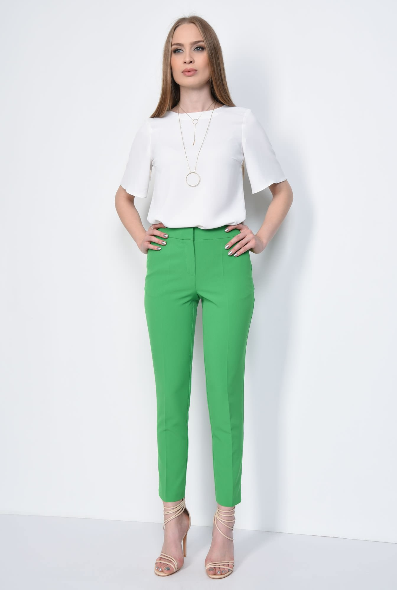 3 - PANTALON OFFICE CONIC PT 142-VERDE