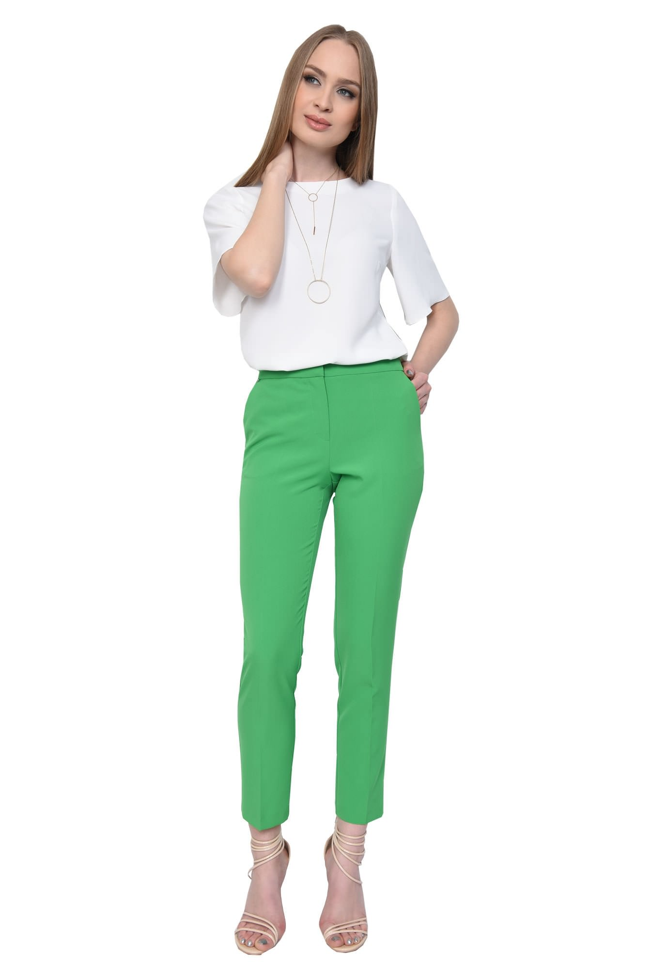0 - PANTALON OFFICE CONIC PT 142-VERDE