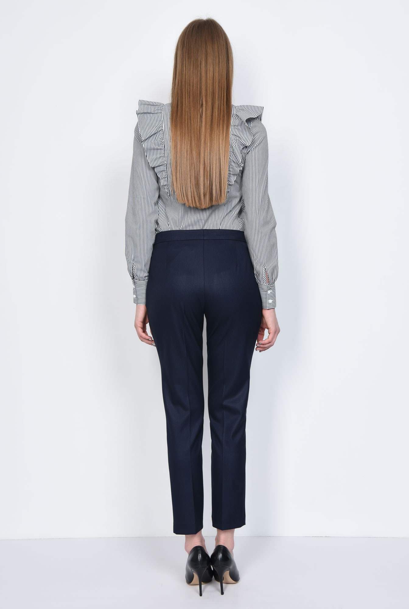 1 - PANTALON OFFICE CONIC PT 143-BLEUMARIN