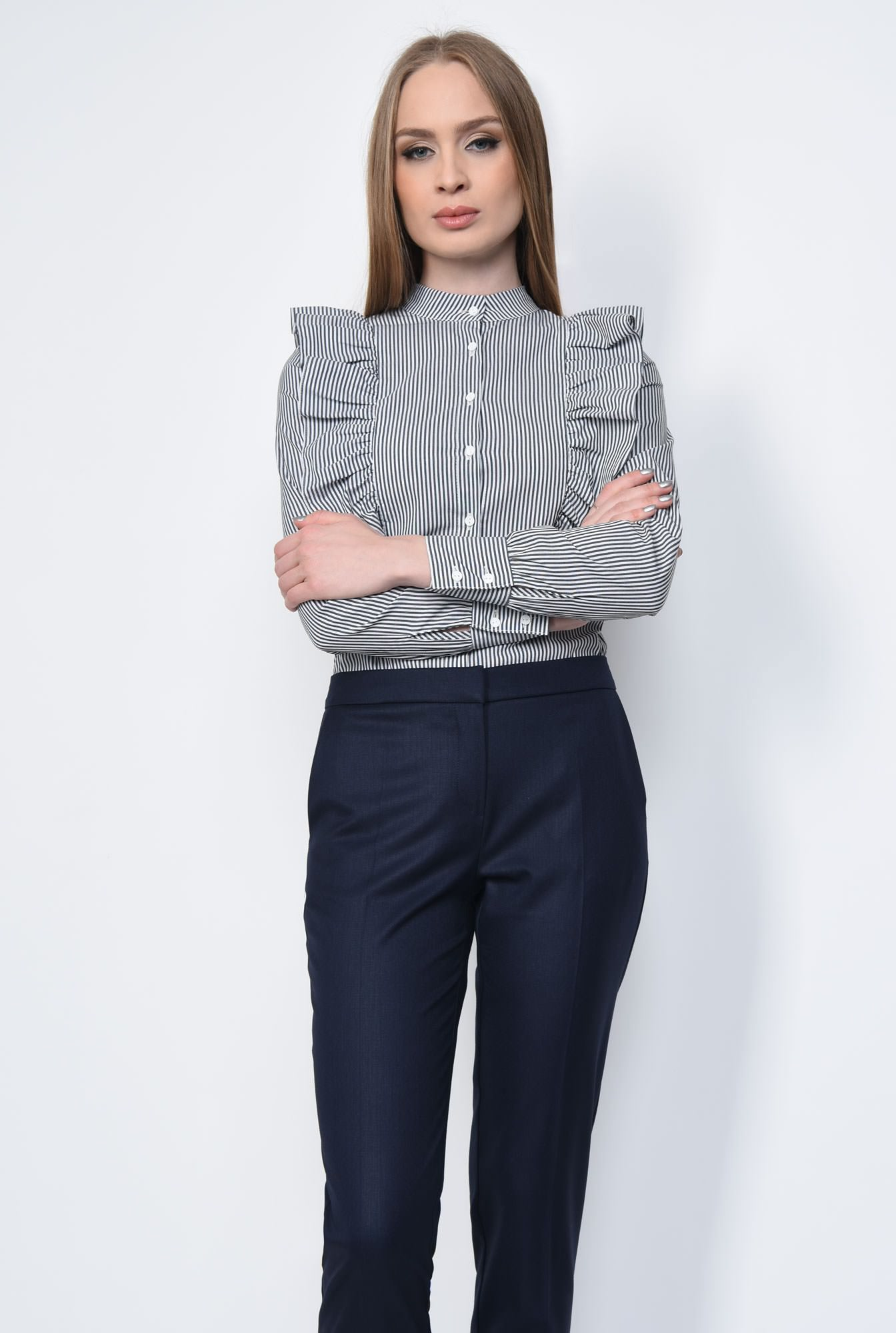 0 - PANTALON OFFICE CONIC PT 143-BLEUMARIN