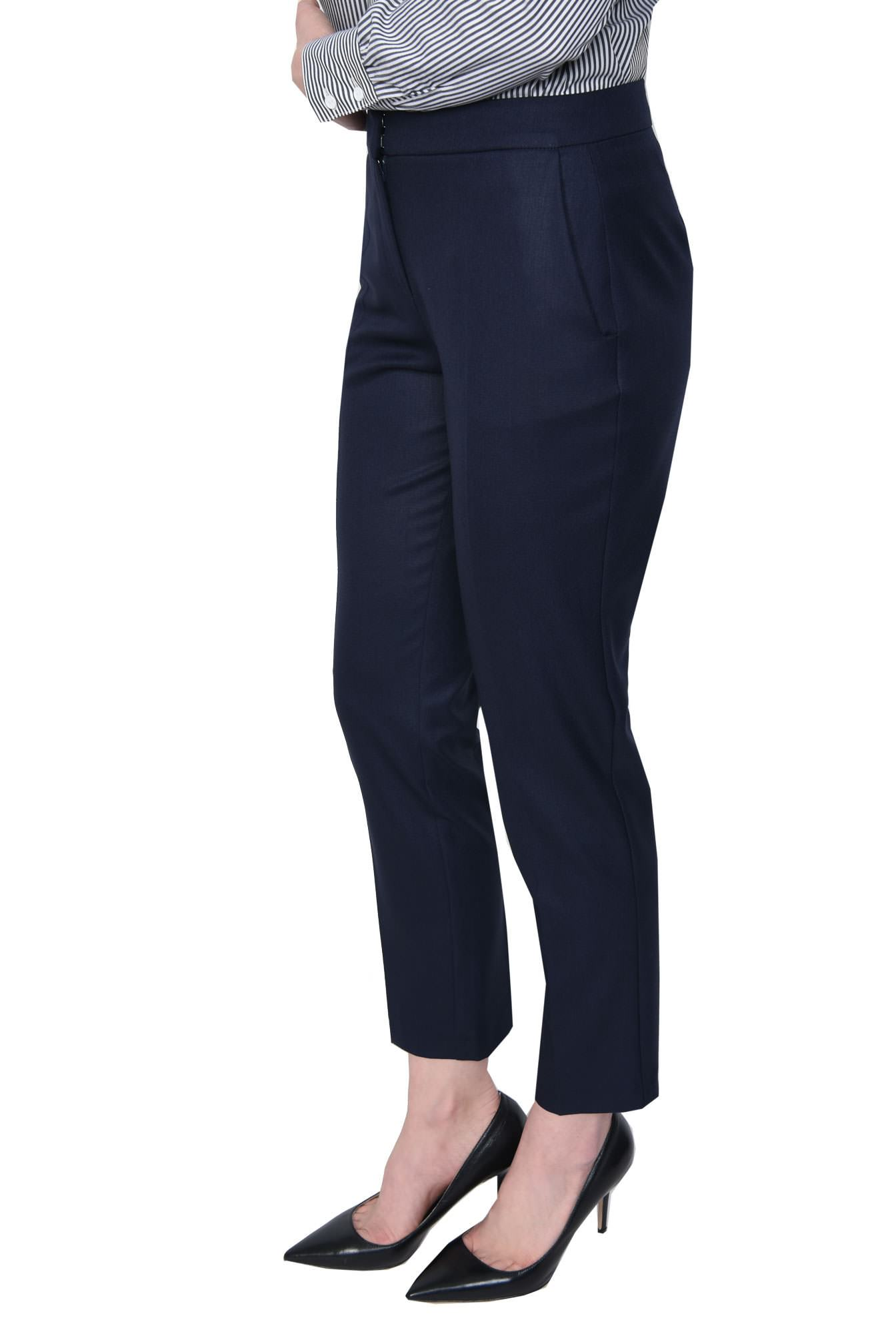 2 - PANTALON OFFICE CONIC PT 143-BLEUMARIN