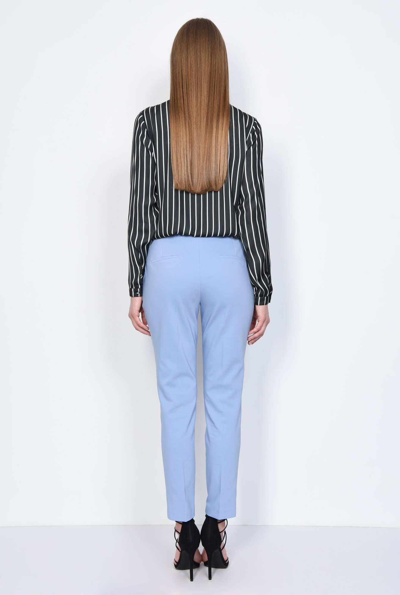 1 - PANTALON OFFICE CONIC PT 144-BLEU