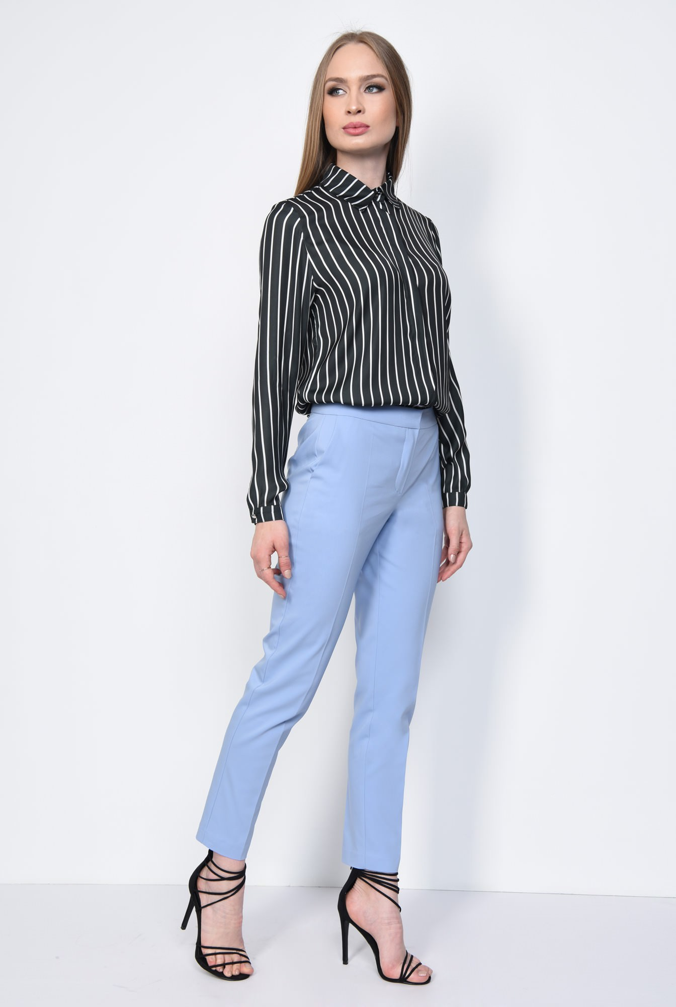 3 - PANTALON OFFICE CONIC PT 144-BLEU