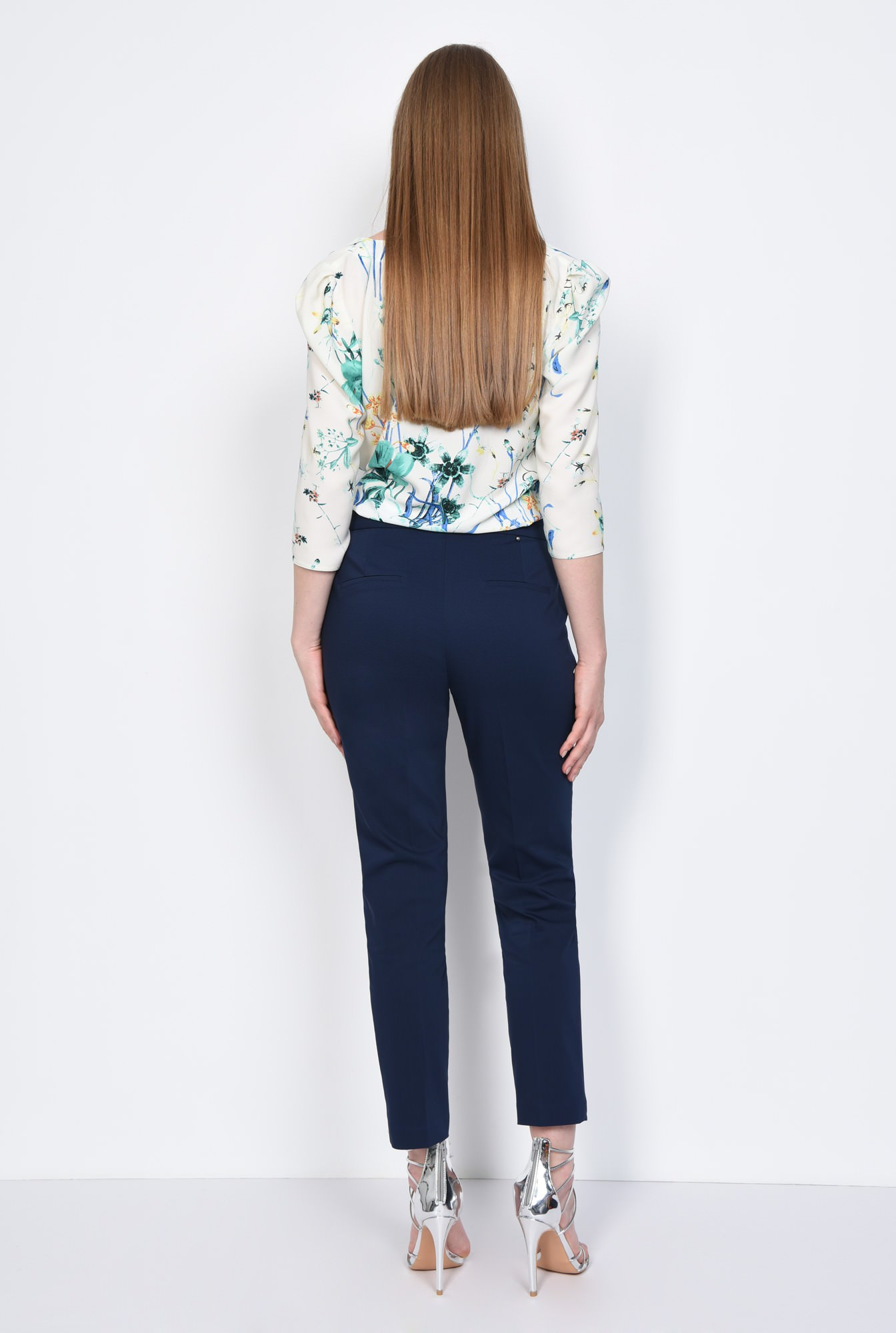 1 - PANTALON OFFICE CONIC PT 144-BLEUMARIN