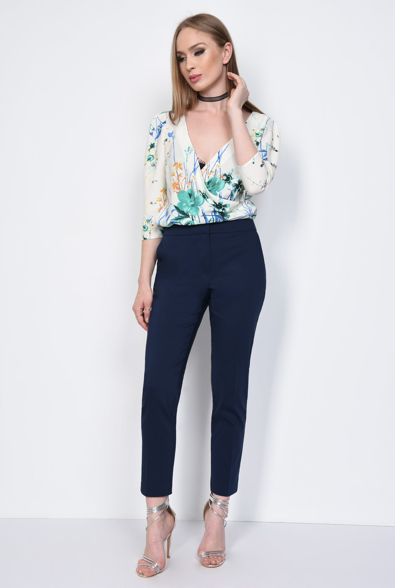 3 - PANTALON OFFICE CONIC PT 144-BLEUMARIN