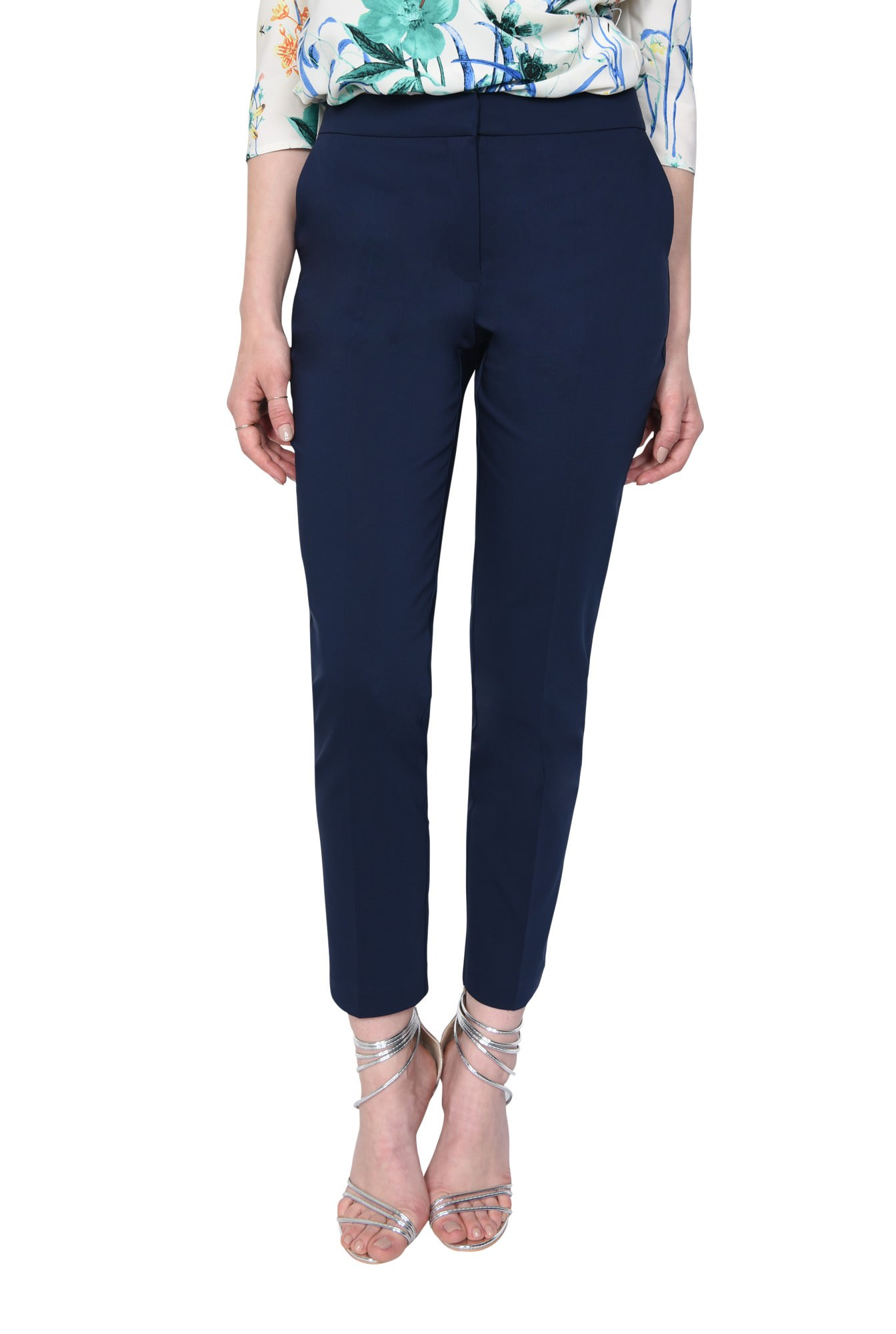 2 - PANTALON OFFICE CONIC PT 144-BLEUMARIN