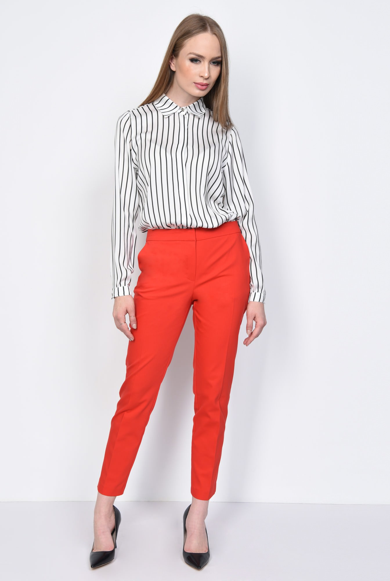 3 - PANTALON OFFICE CONIC PT 144-ROSU