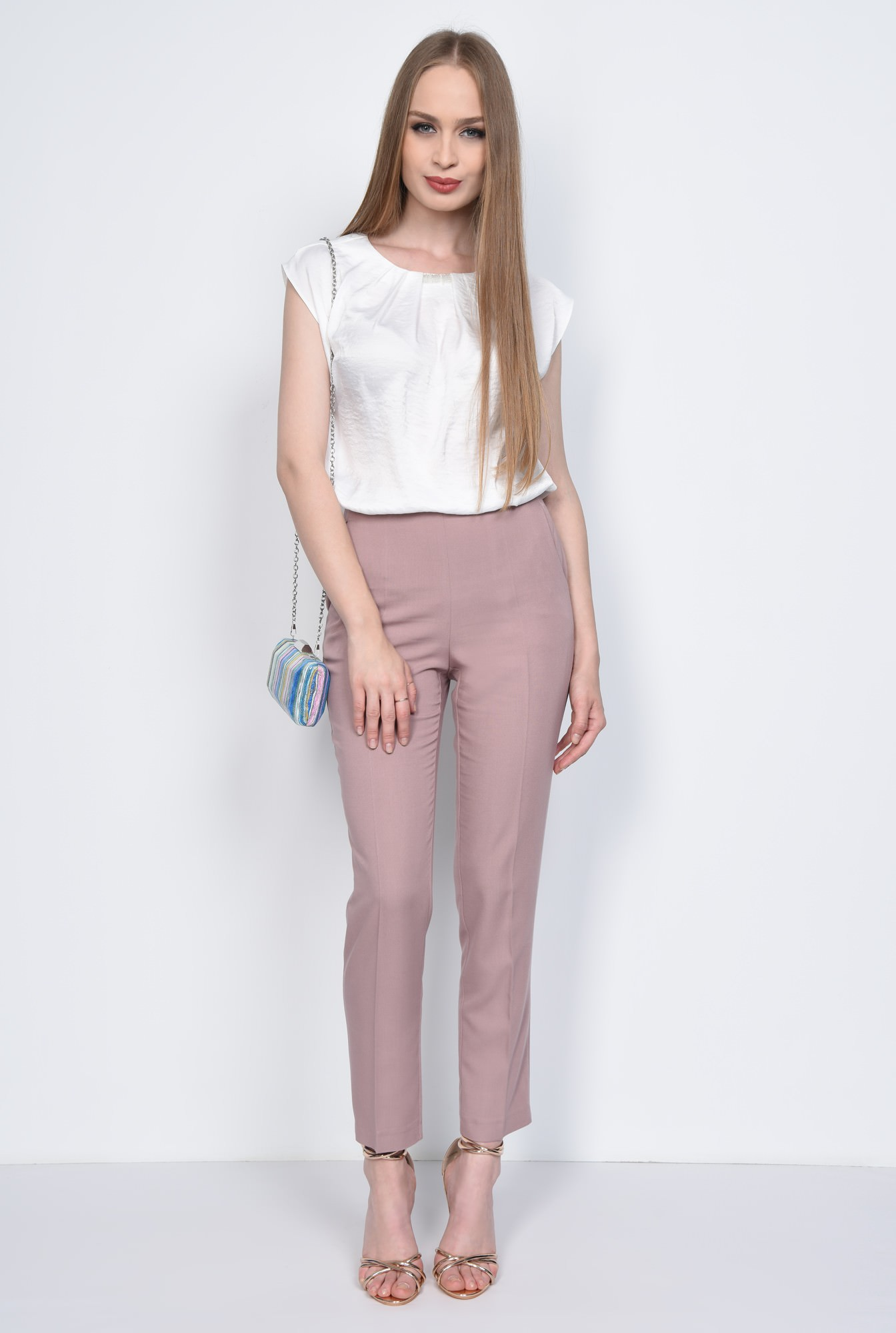 3 - PANTALON CASUAL CONIC PT 152-BEJ