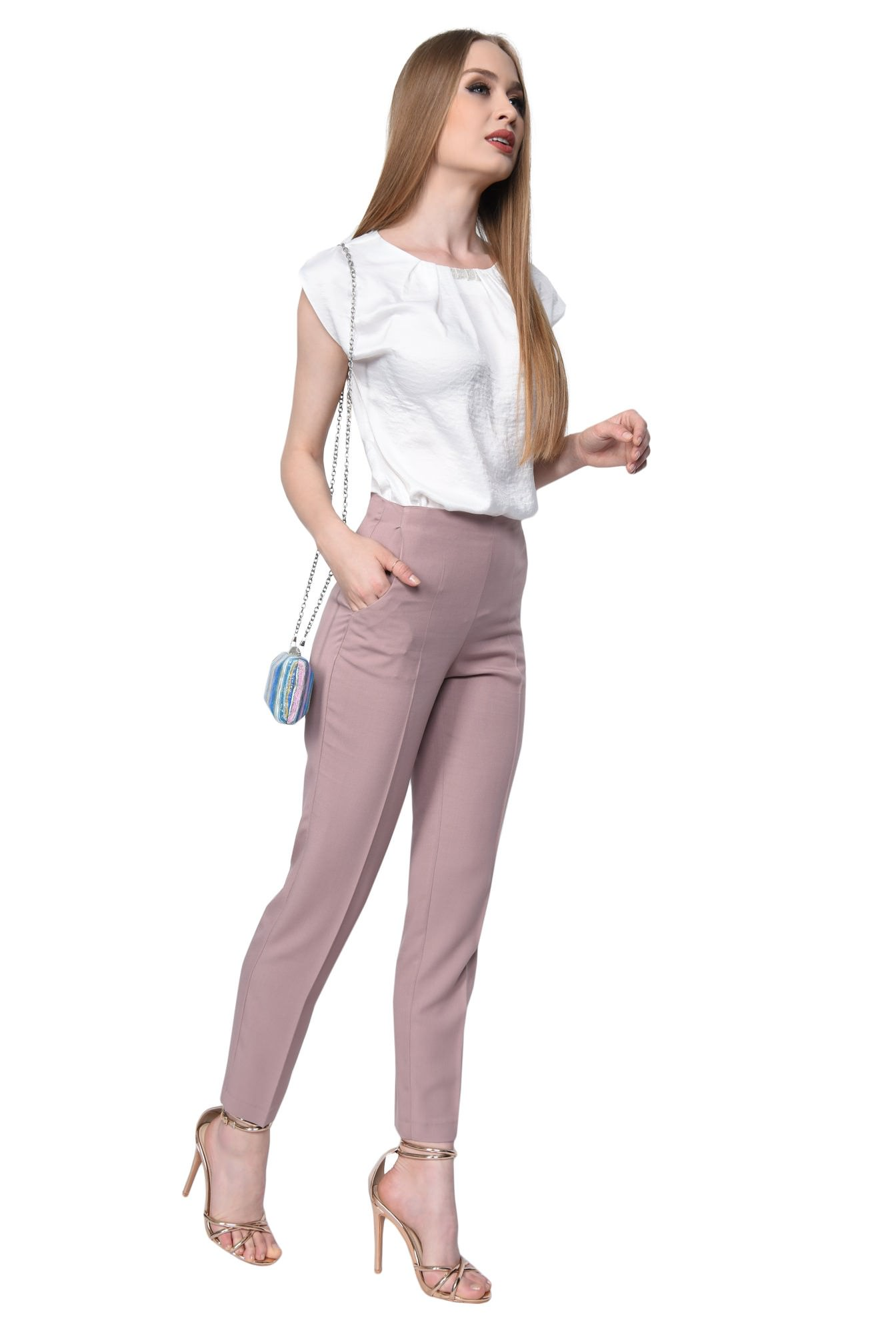 0 - PANTALON CASUAL CONIC PT 152-BEJ