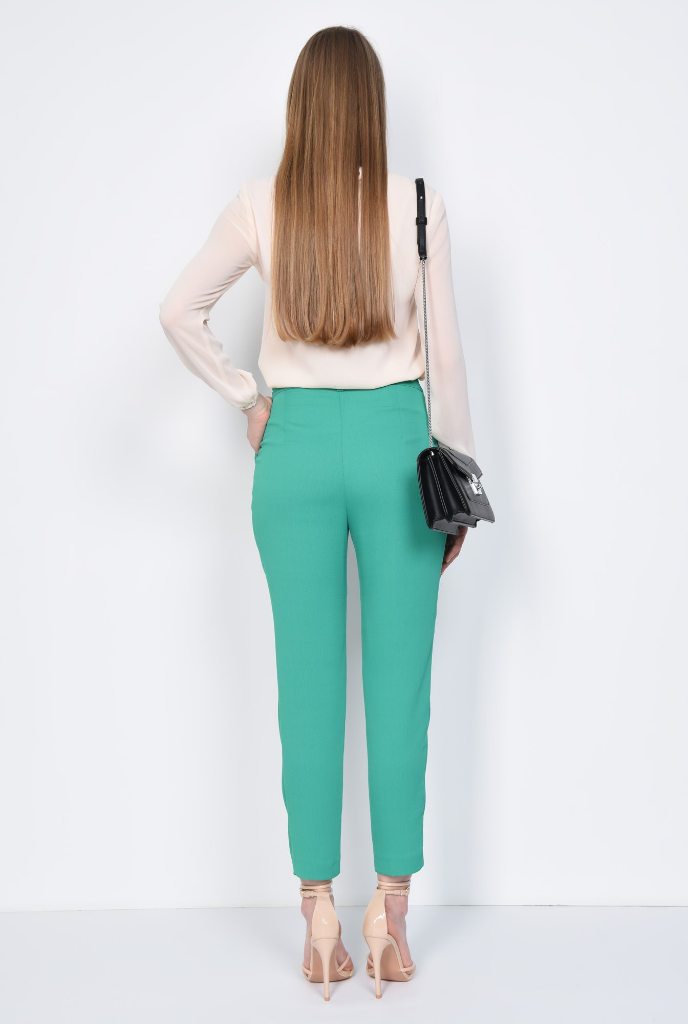 1 - PANTALON CASUAL CONIC PT 155-VERDE